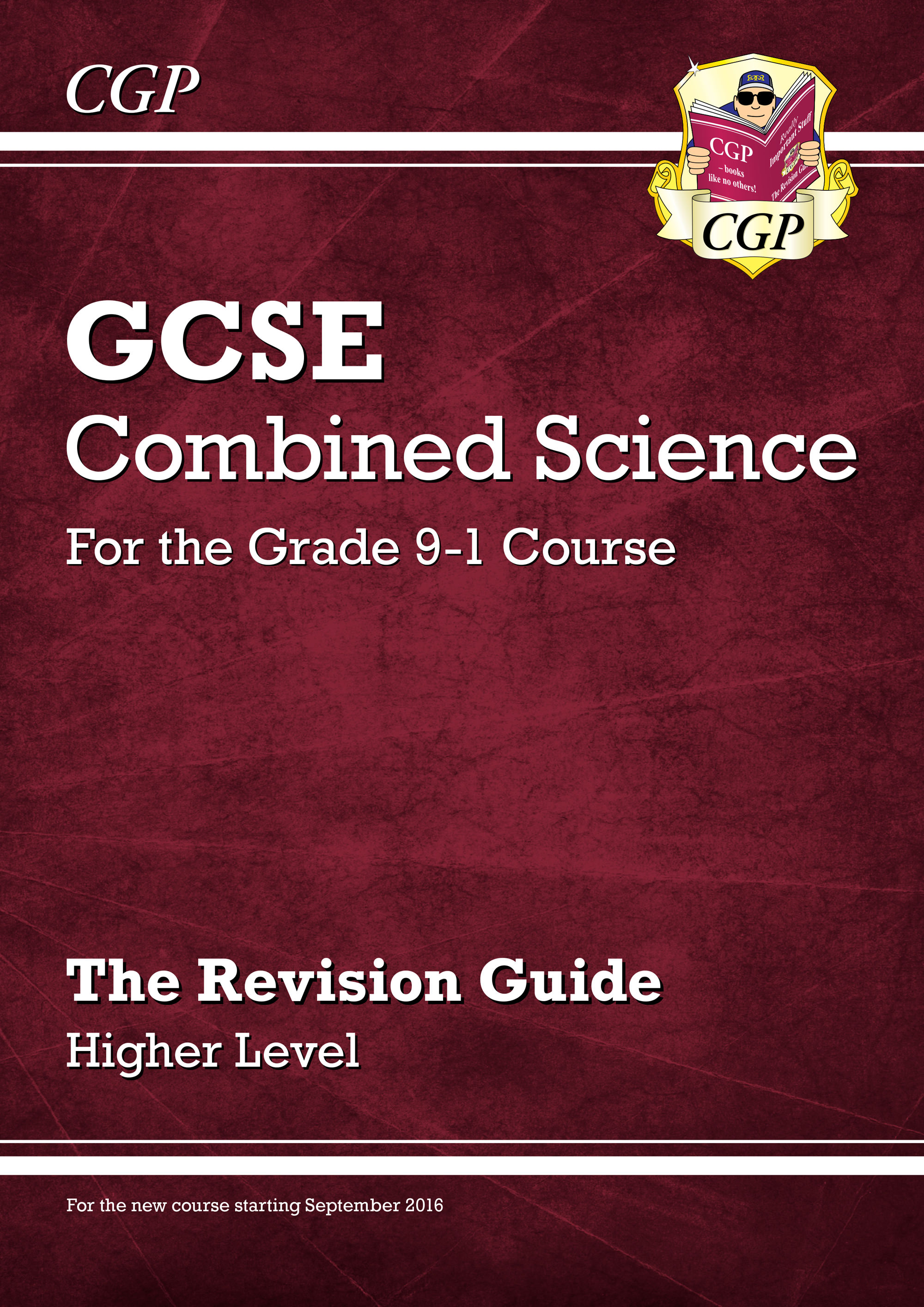 SHR45DK - New Grade 9-1 GCSE Combined Science: Revision Guide - Higher