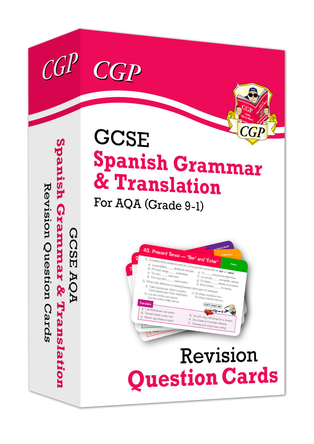 SPATF41 - New Grade 9-1 GCSE AQA Spanish: Grammar & Translation Revision Question Cards