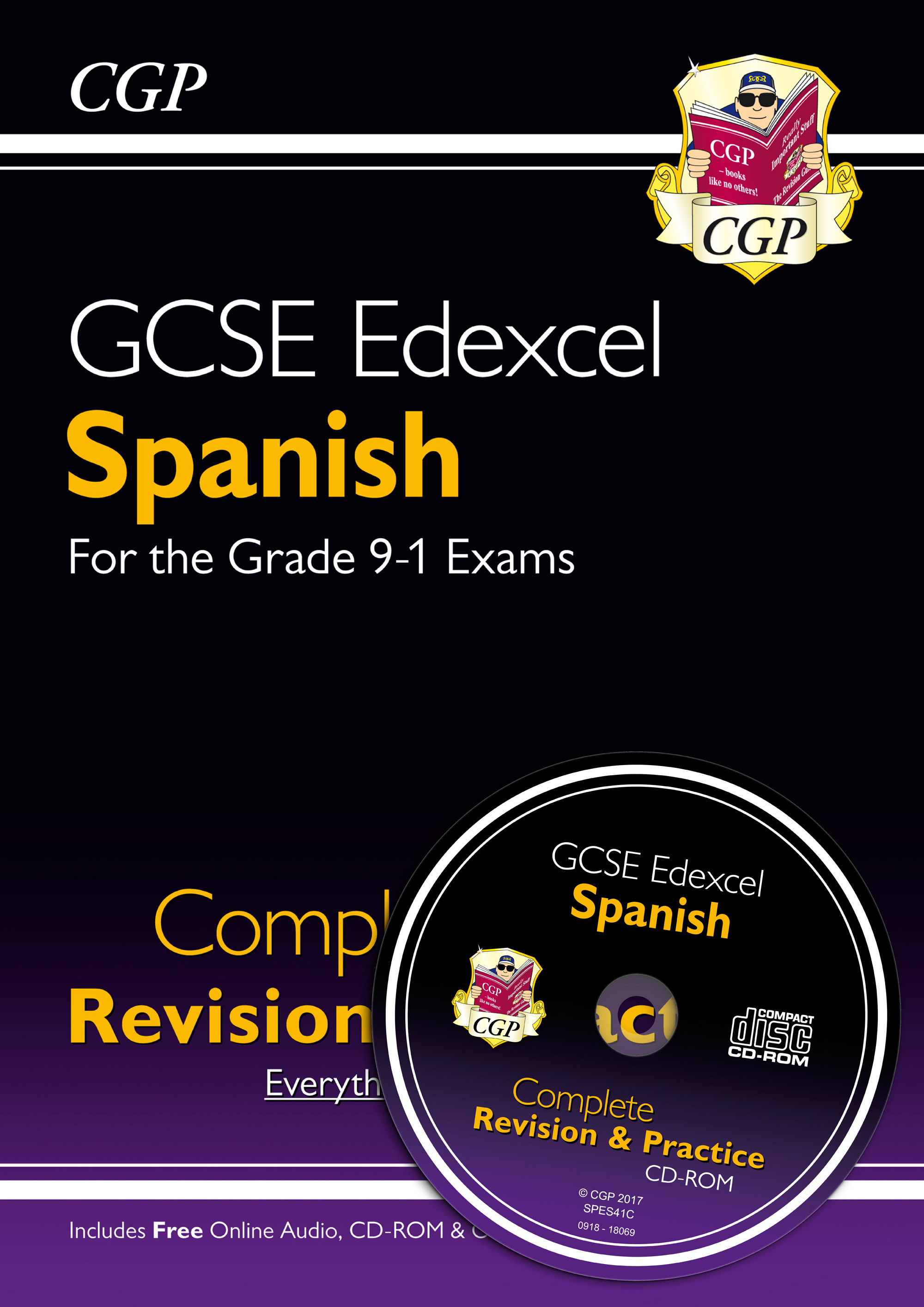 SPES41 - New GCSE Spanish Edexcel Complete Revision & Practice (with CD & Online Edition) - Grade 9-