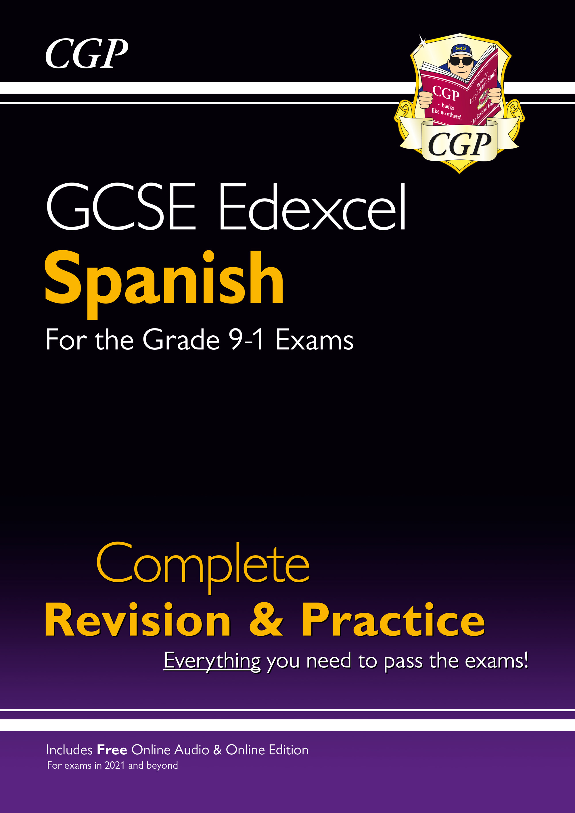 SPES42 - New GCSE Spanish Edexcel Complete Revision & Practice + Online Edition & Audio