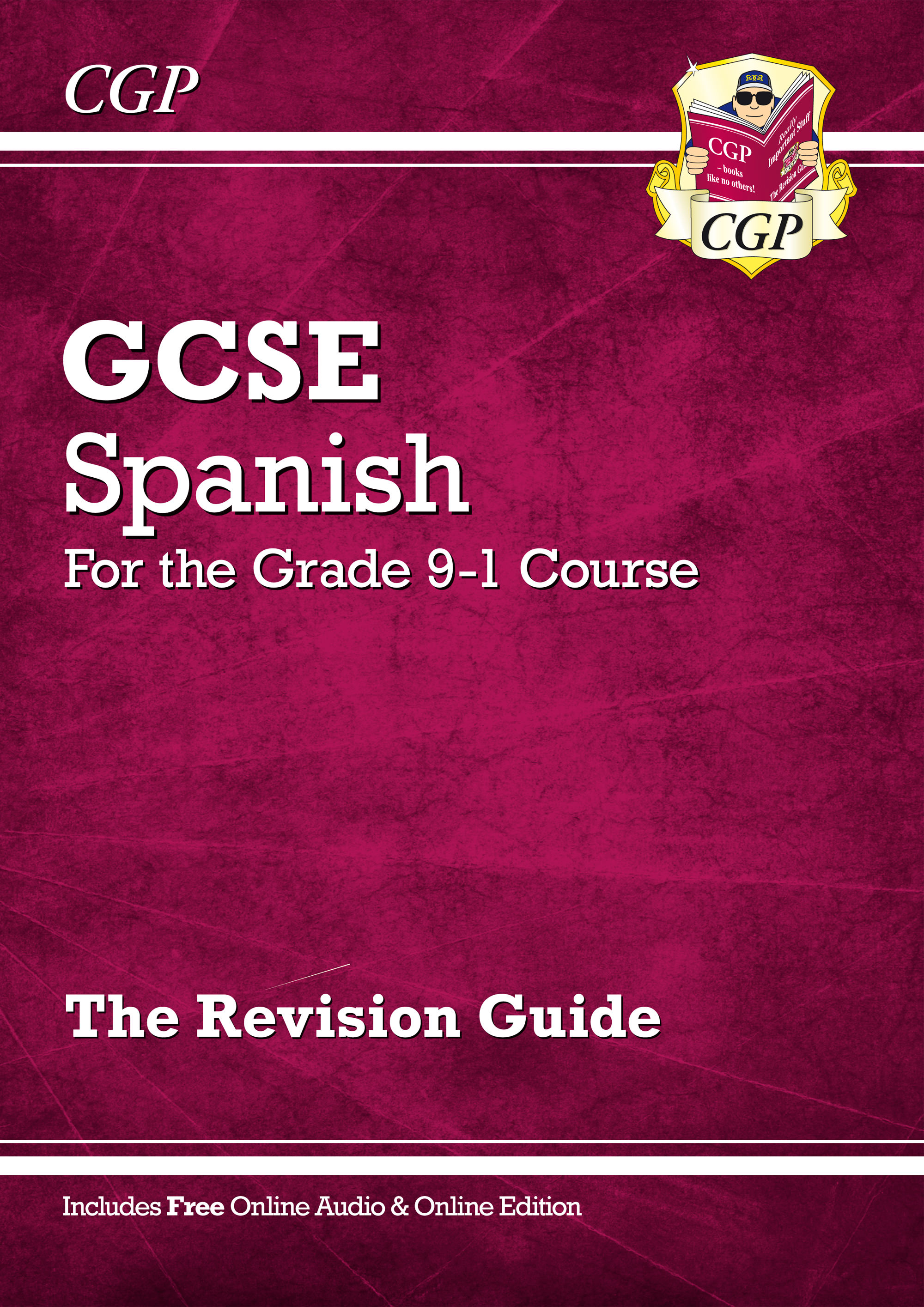 SPHR44 - GCSE Spanish Revision Guide - for the Grade 9-1 Course (with Online Edition)