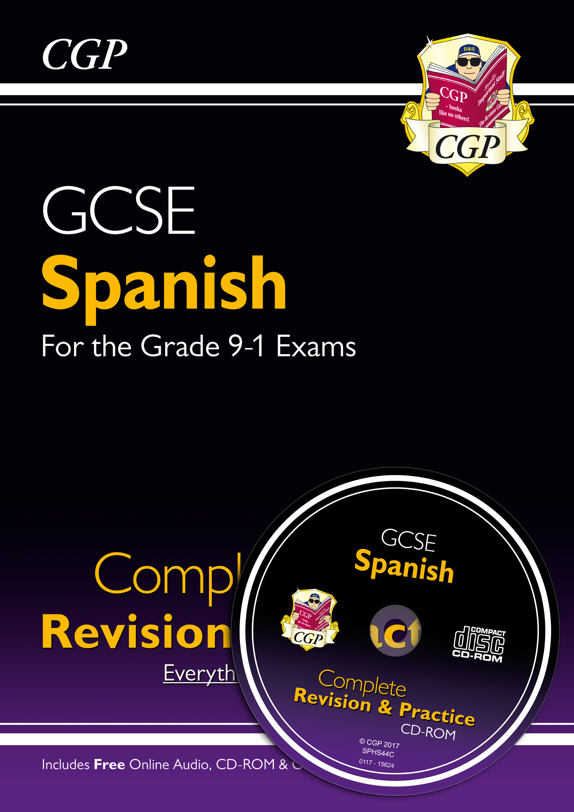 SPHS44 - New GCSE Spanish Complete Revision & Practice (with CD & Online Edition) - Grade 9-1 Course