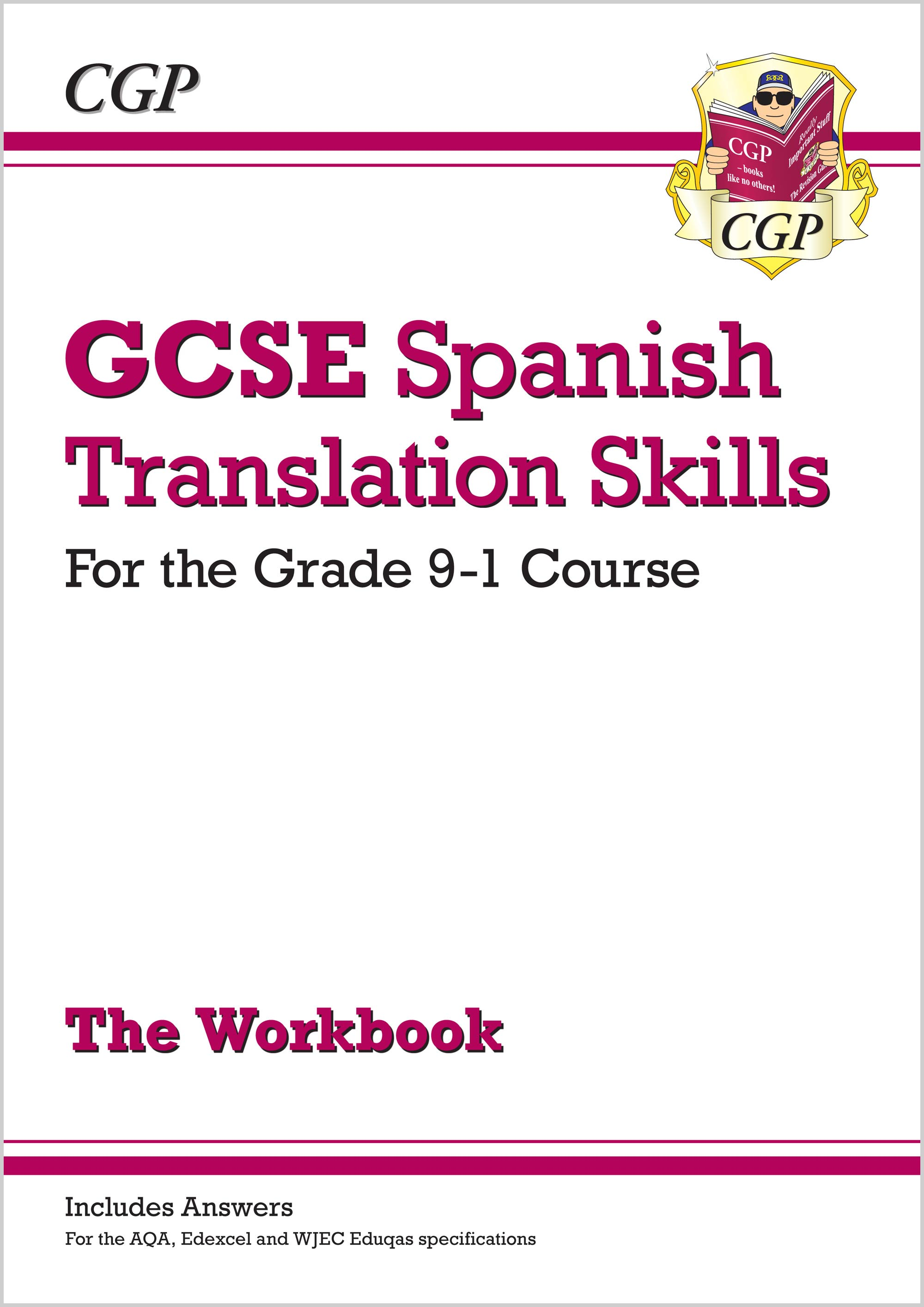 SPTW41 - New Grade 9-1 GCSE Spanish Translation Skills Workbook (includes Answers)