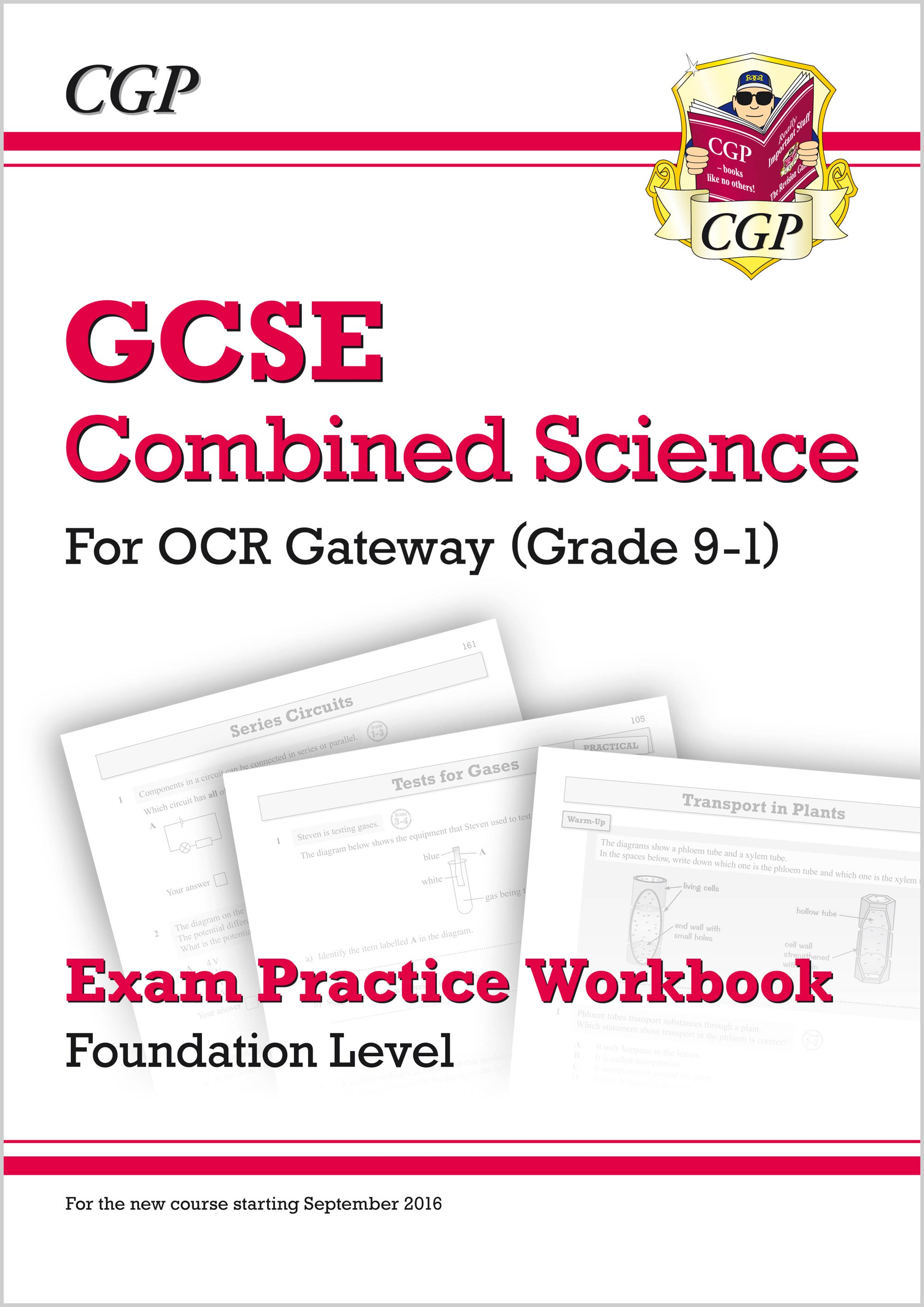 SRFQ41 - Grade 9-1 GCSE Combined Science: OCR Gateway Exam Practice Workbook - Foundation