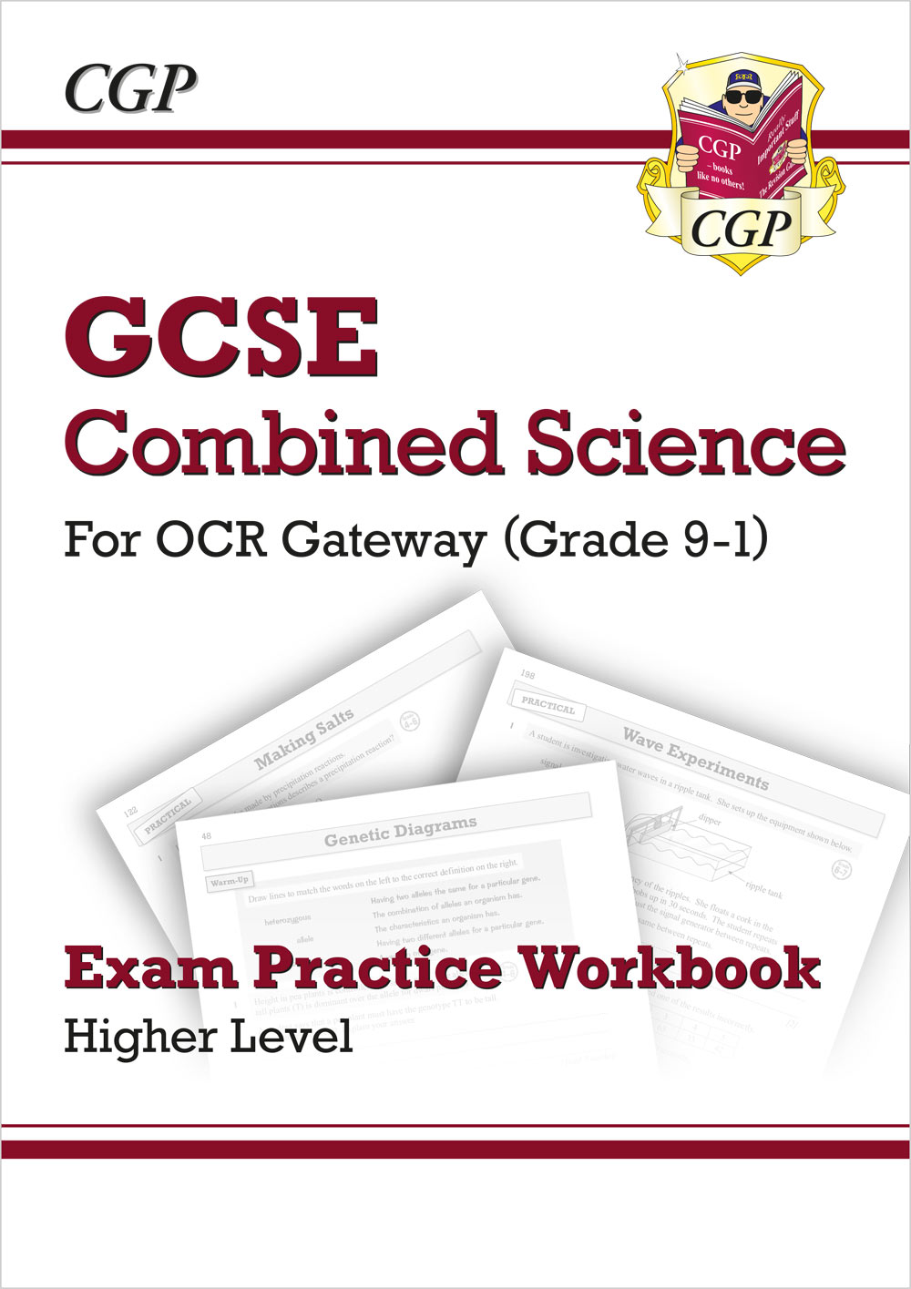 SRHQ41 - Grade 9-1 GCSE Combined Science: OCR Gateway Exam Practice Workbook - Higher