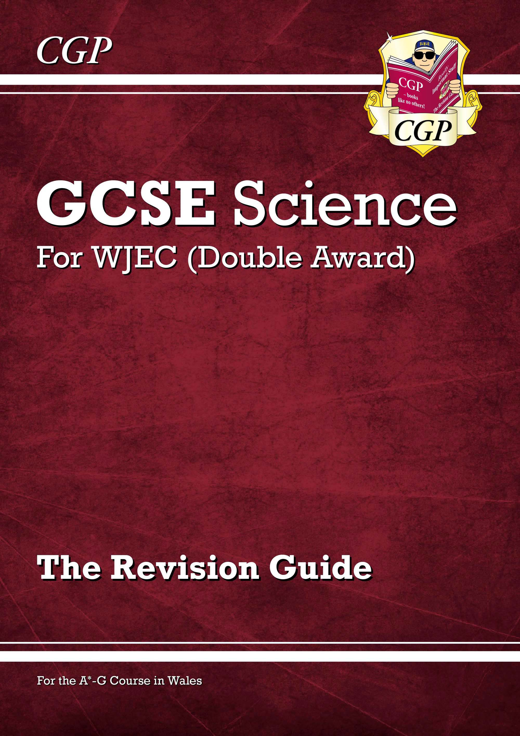 SWR41DK - New WJEC GCSE Science Double Award - Revision Guide