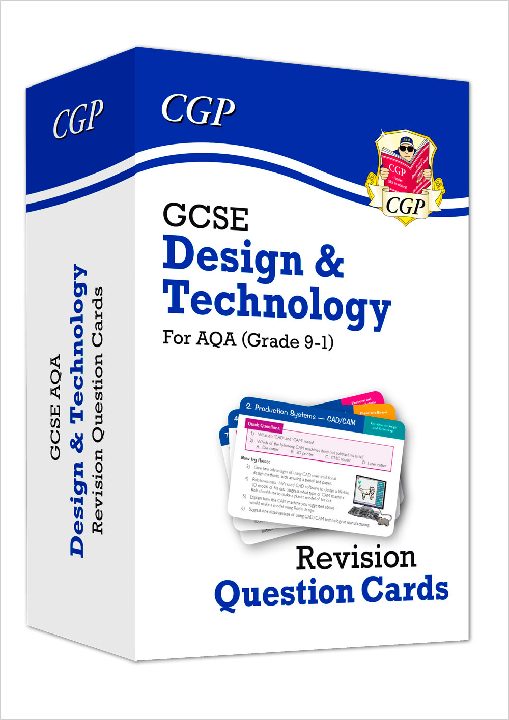 TAF41 - New Grade 9-1 GCSE Design & Technology AQA Revision Question Cards