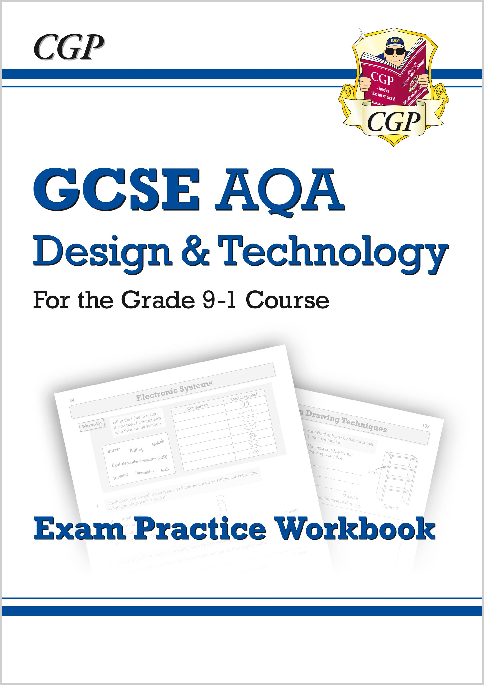 TAQ41 - New Grade 9-1 GCSE Design & Technology AQA Exam Practice Workbook