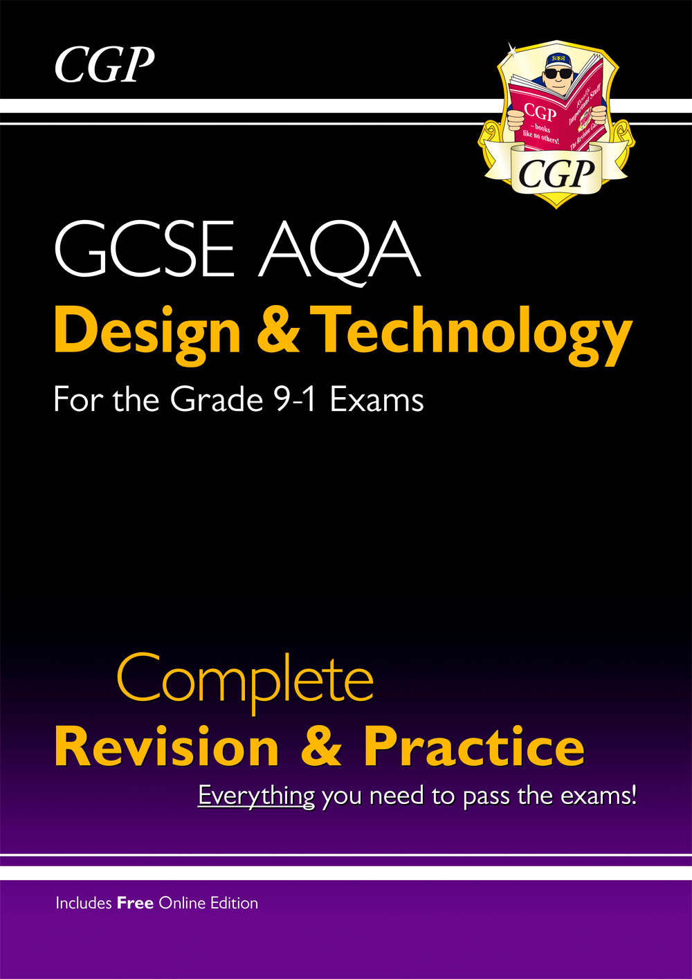 TAS41 - New Grade 9-1 Design & Technology AQA Complete Revision & Practice (with Online Edition)