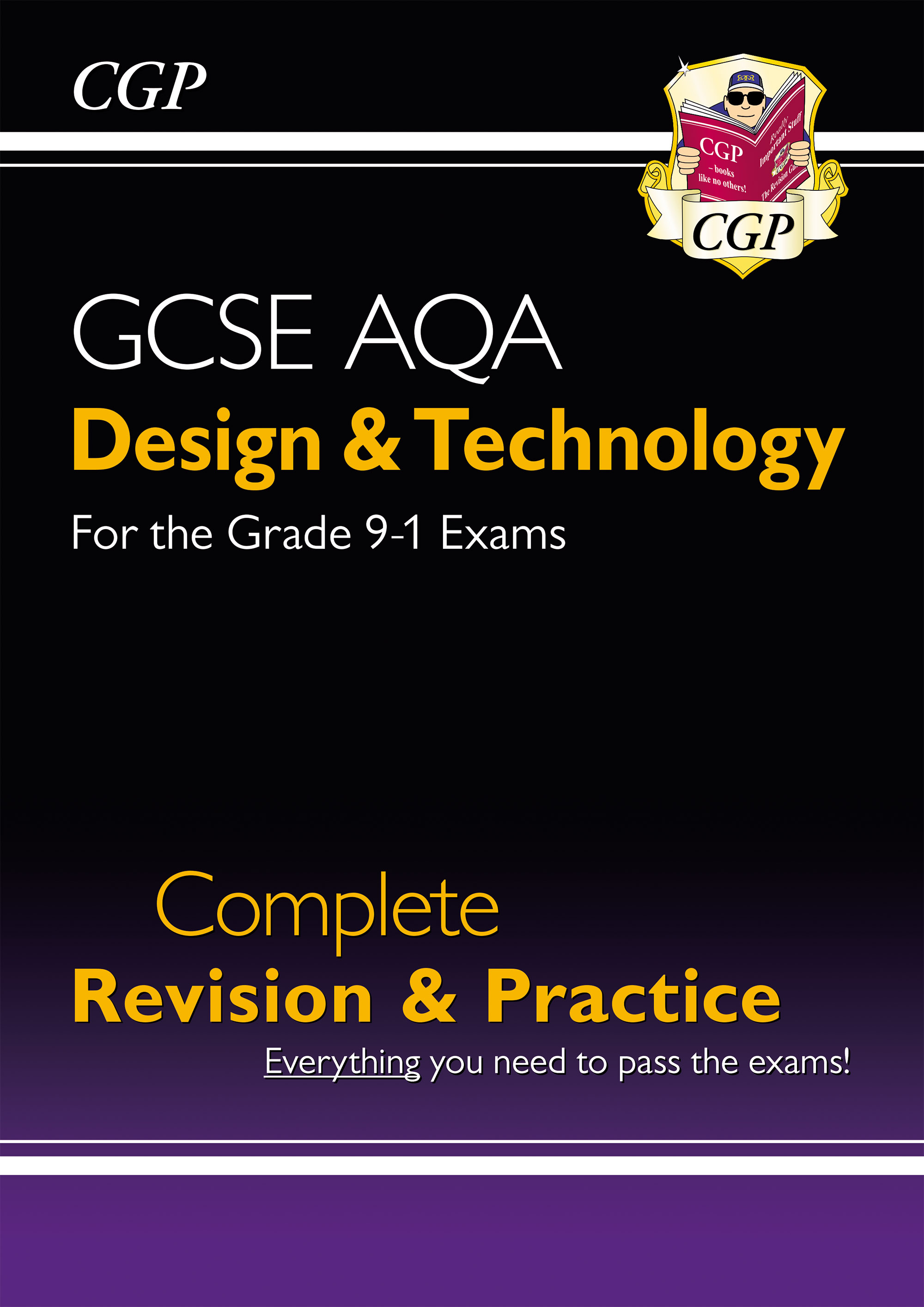 TAS41DK - New Grade 9-1 Design & Technology AQA Complete Revision & Practice