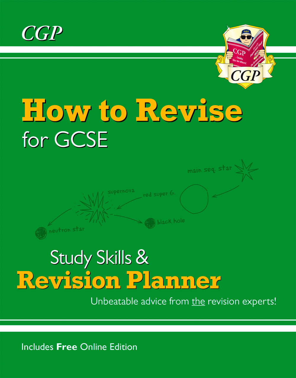 XHR41 - How to Revise for GCSE: Study Skills & Planner - from CGP, the Revision Experts (inc Online