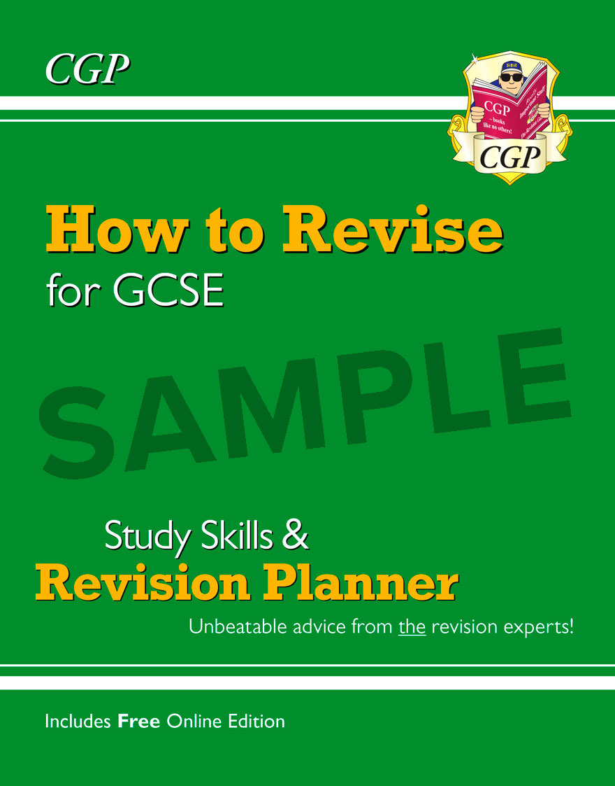 XHR41DD - How to Revise for GCSE: Study Skills & Planner - from CGP, the Revision Experts Online Edition