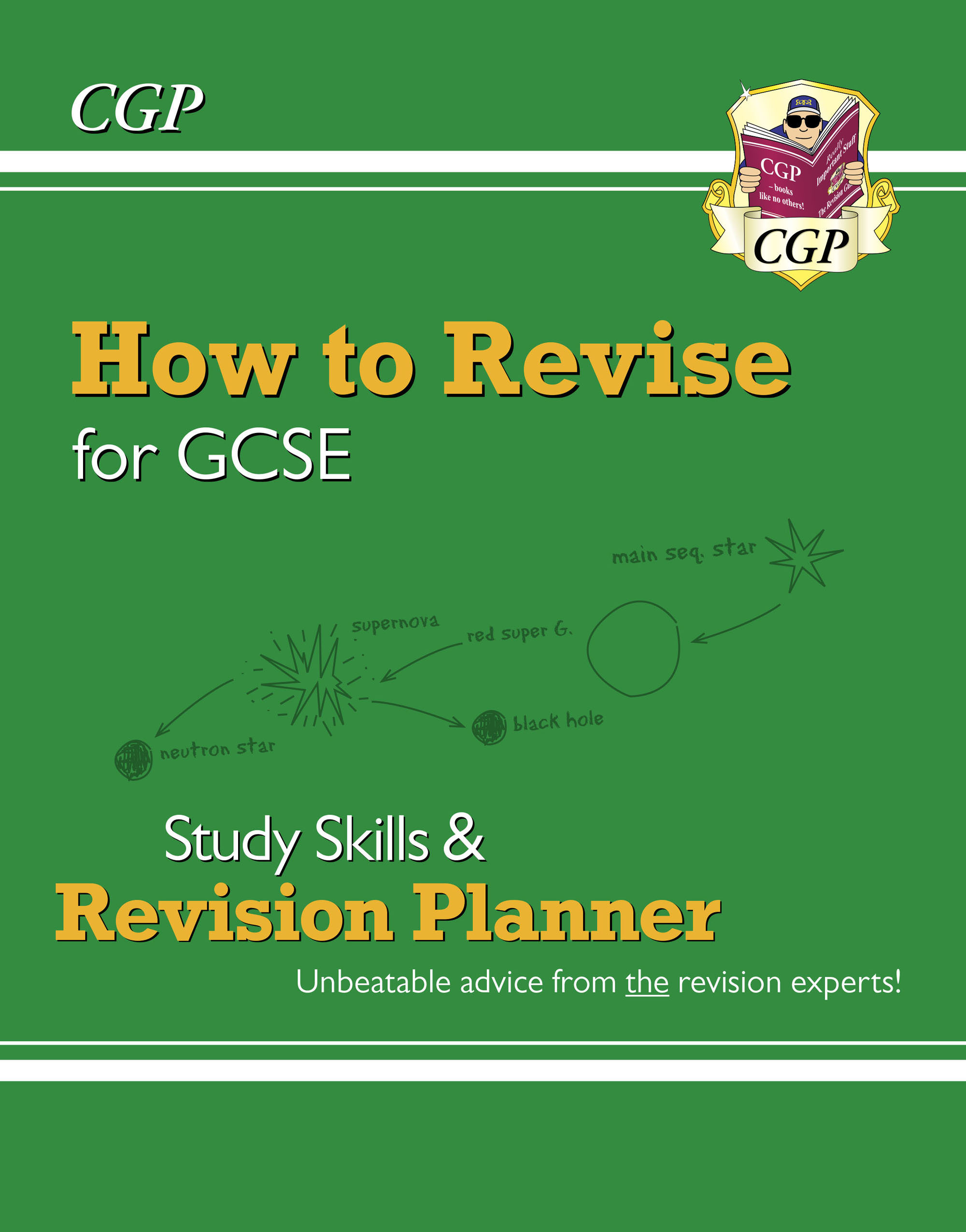 XHR41DK - How to Revise for GCSE: Study Skills & Planner - from CGP, the Revision Experts Online Ed
