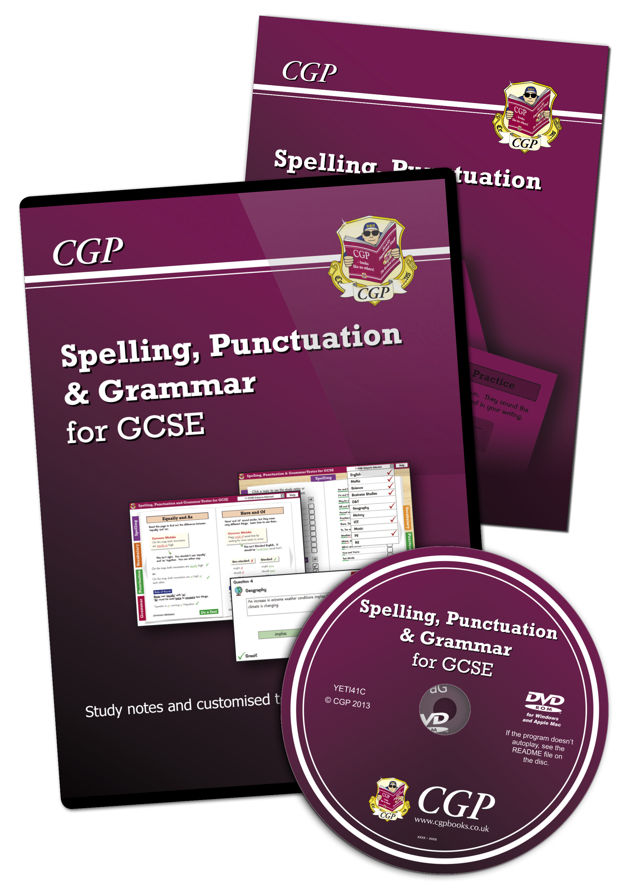 YETI41 - Spelling, Punctuation & Grammar for GCSE - Digital Tester and Handbook