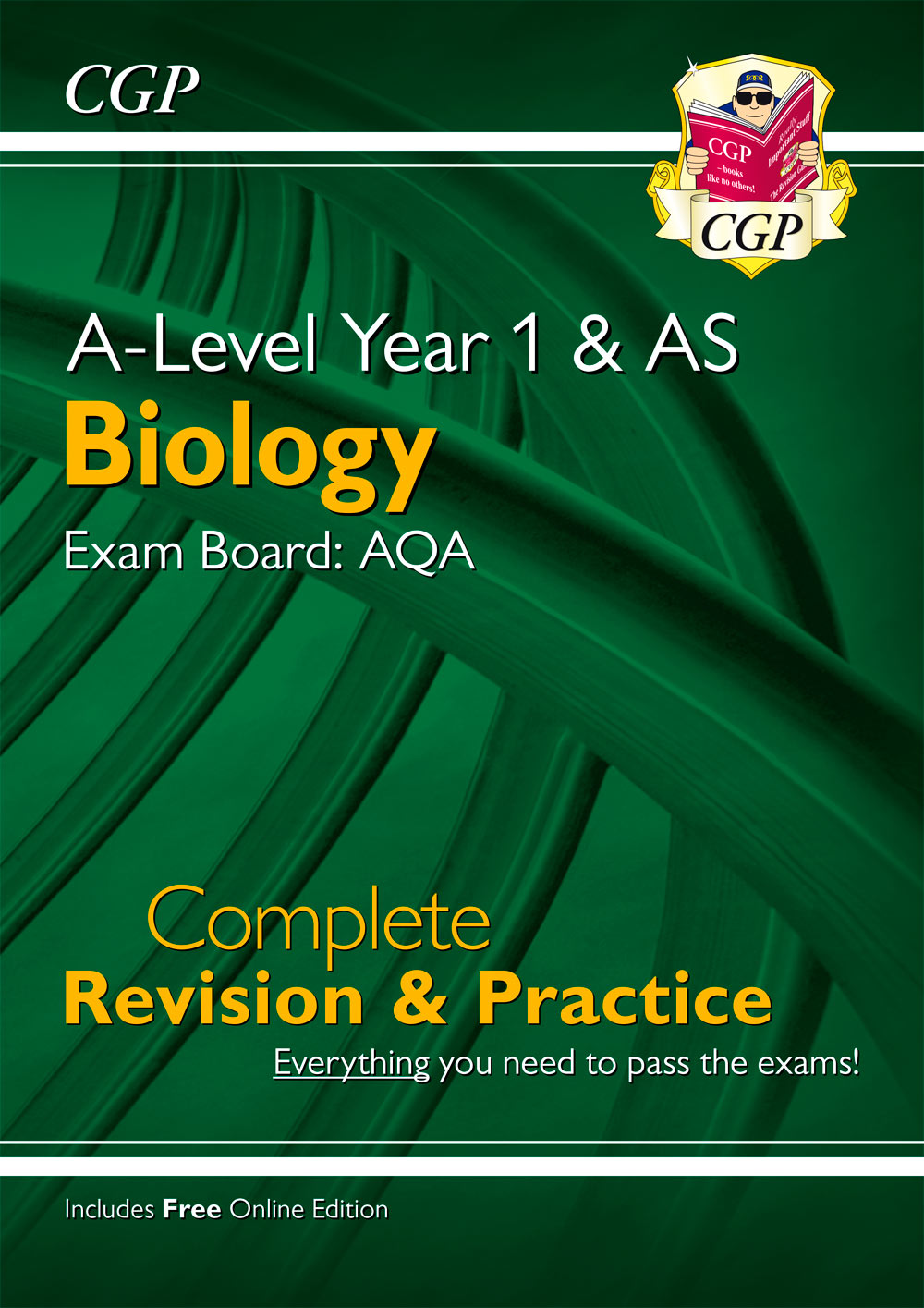 BAR54 - New A-Level Biology: AQA Year 1 & AS Complete Revision & Practice with Online Edition