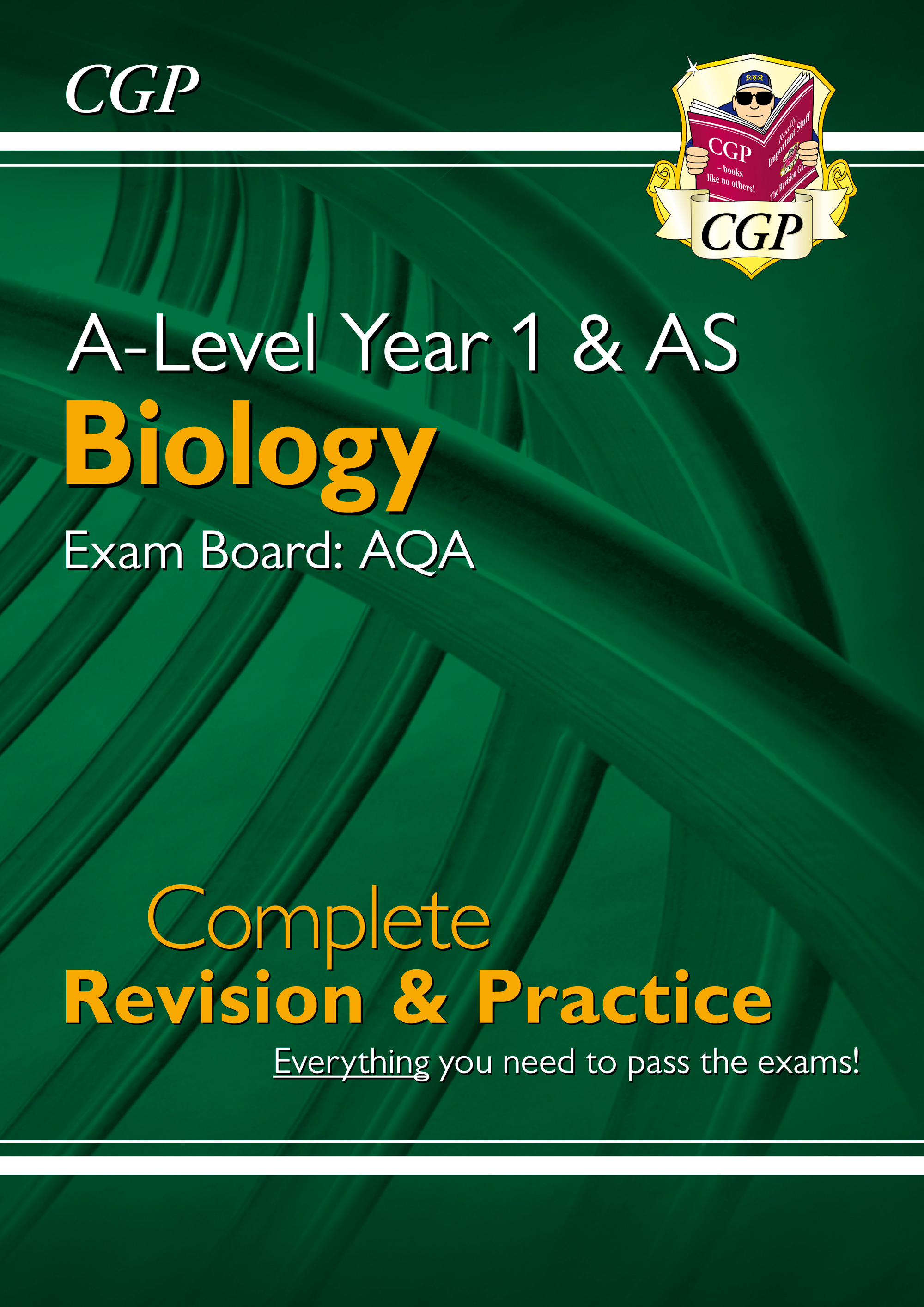 BAR54DK - New A-Level Biology for 2018: AQA Year 1 & AS Complete Revision & Practice