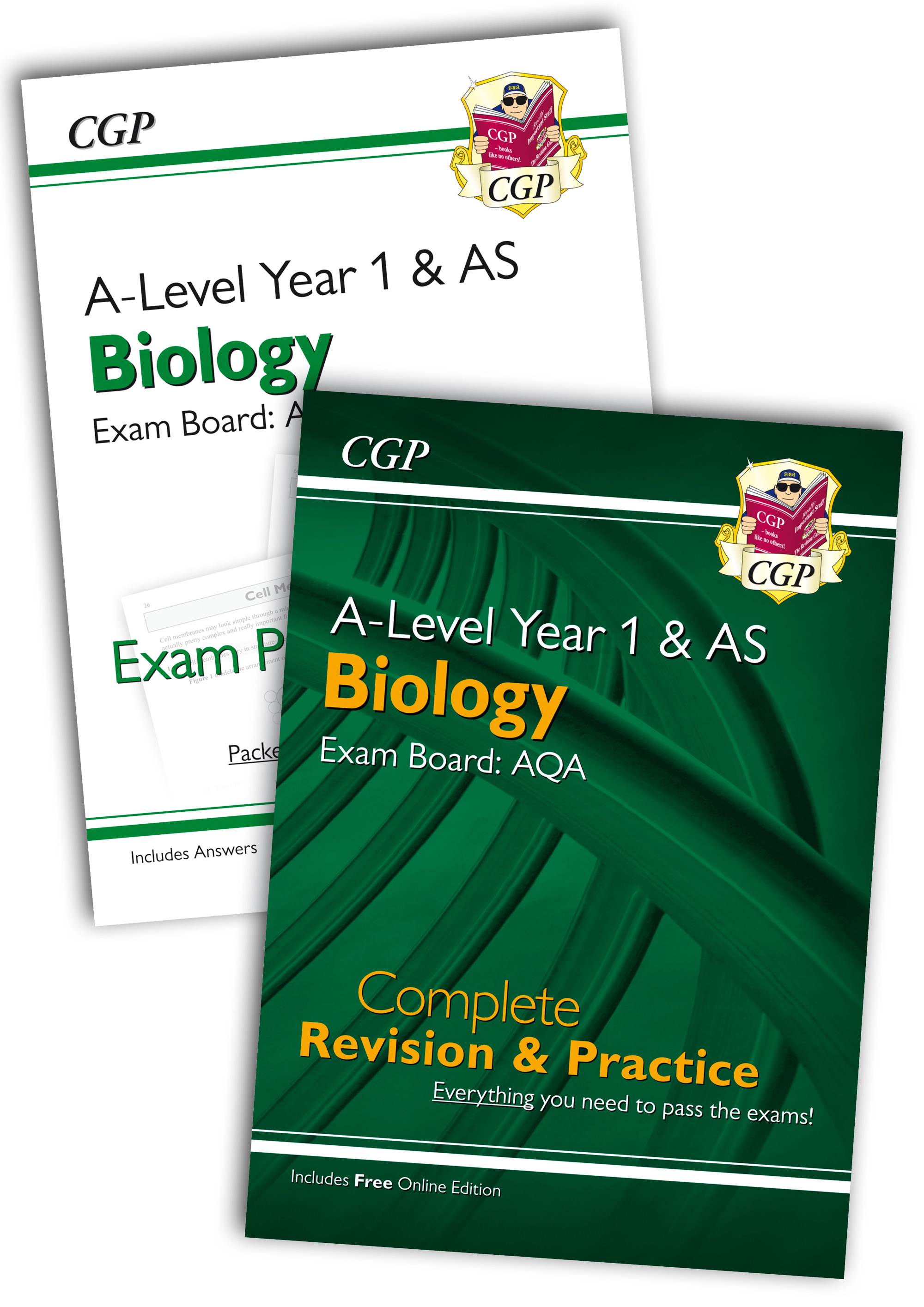 BARQB51 - New 2018 Complete Revision and Exam Practice A-Level Biology Bundle: AQA Year 1 & AS