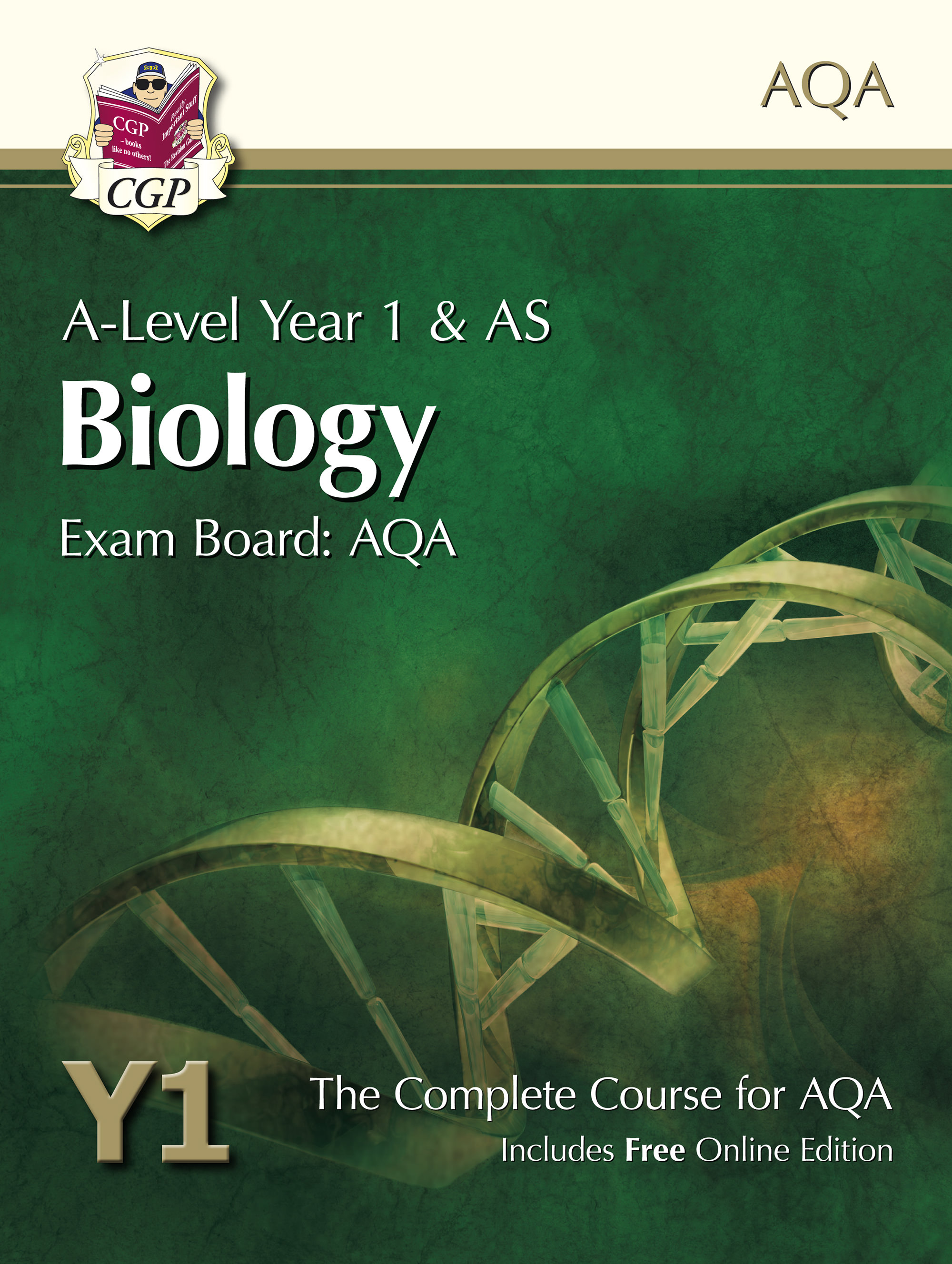 BATB52 - A-Level Biology for AQA: Year 1 & AS Student Book with Online Edition