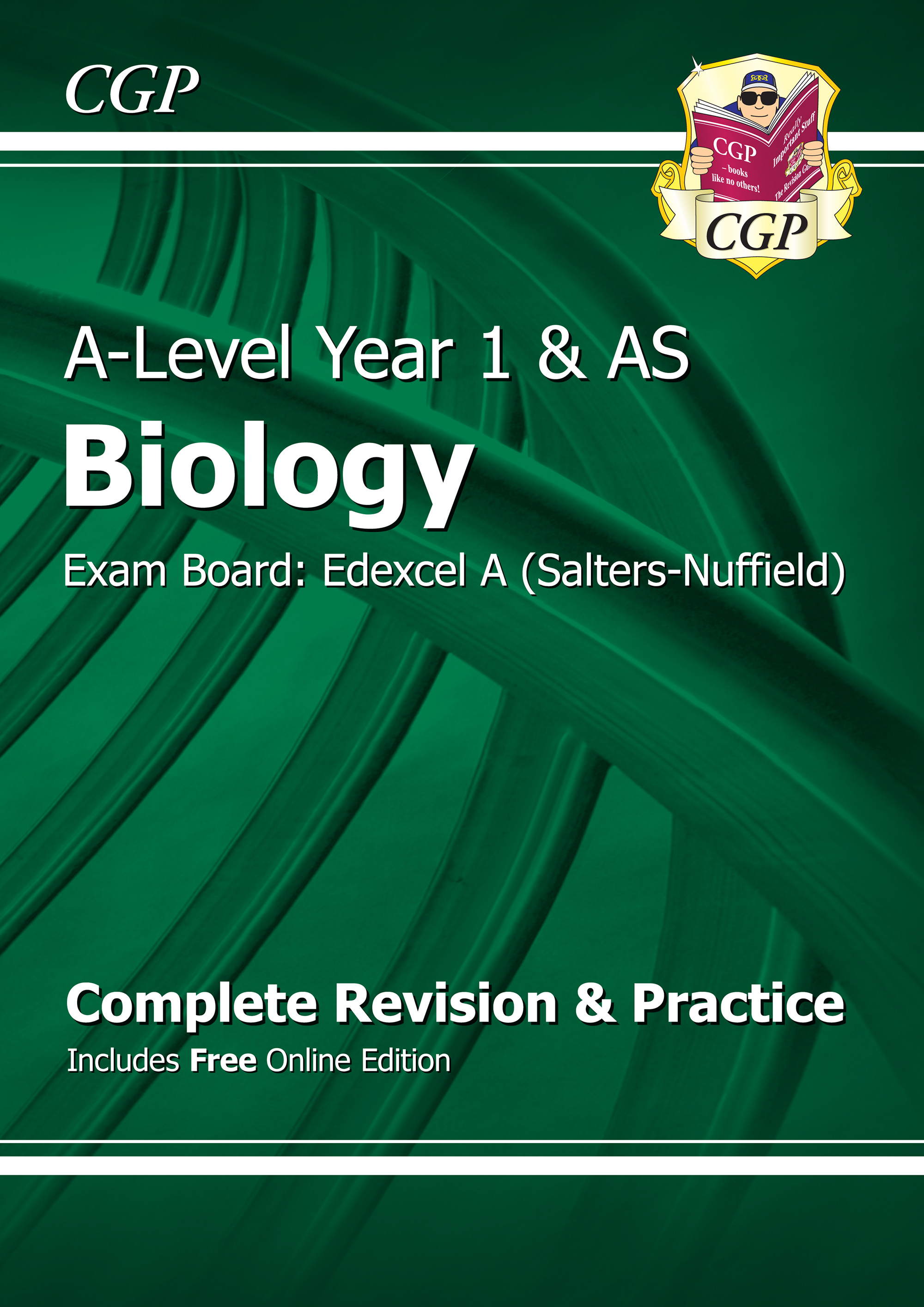 BEAR54 - A-Level Biology: Edexcel A Year 1 & AS Complete Revision & Practice with Online Edition