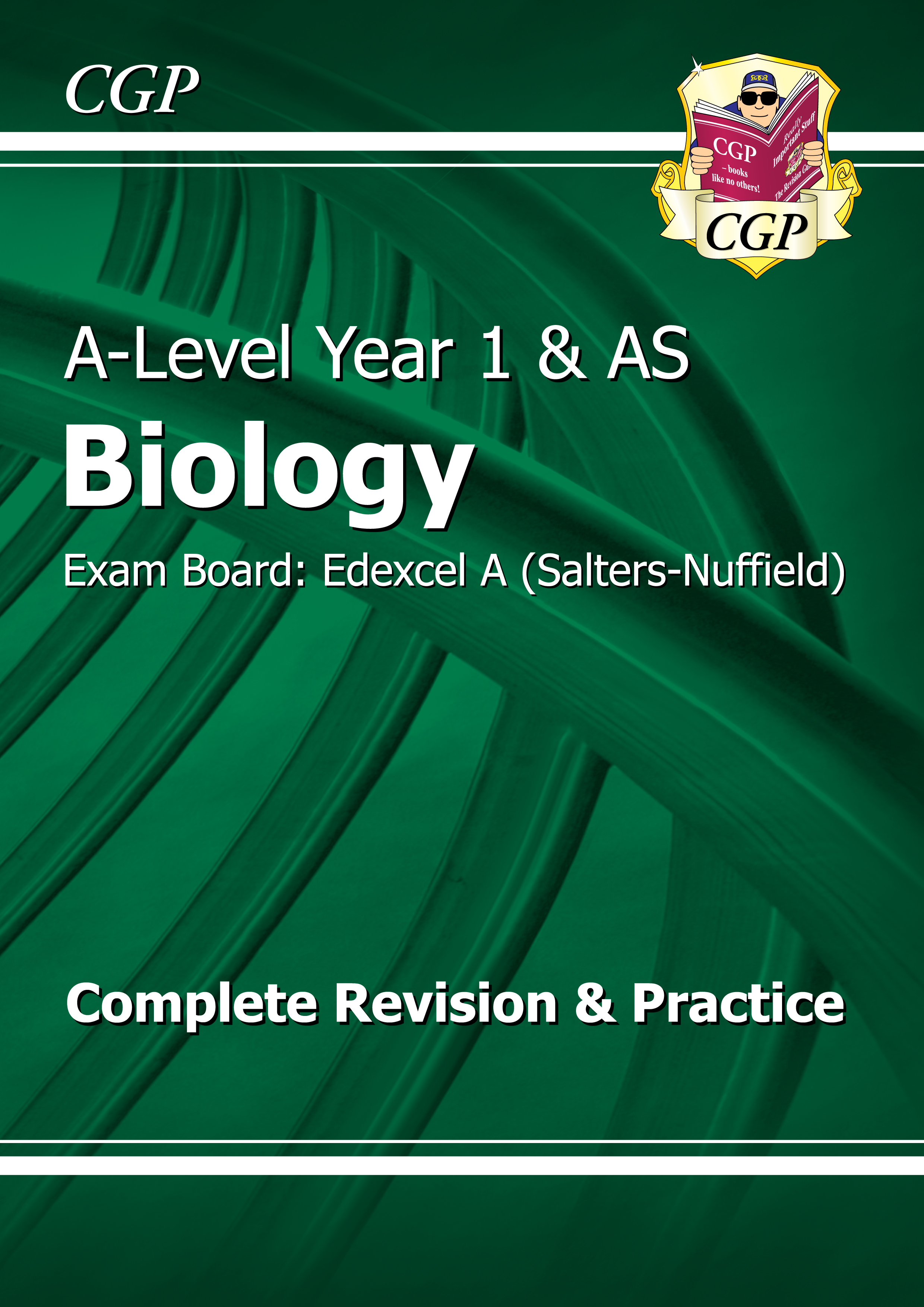 BEAR54DK - A-Level Biology: Edexcel A Year 1 & AS Complete Revision & Practice