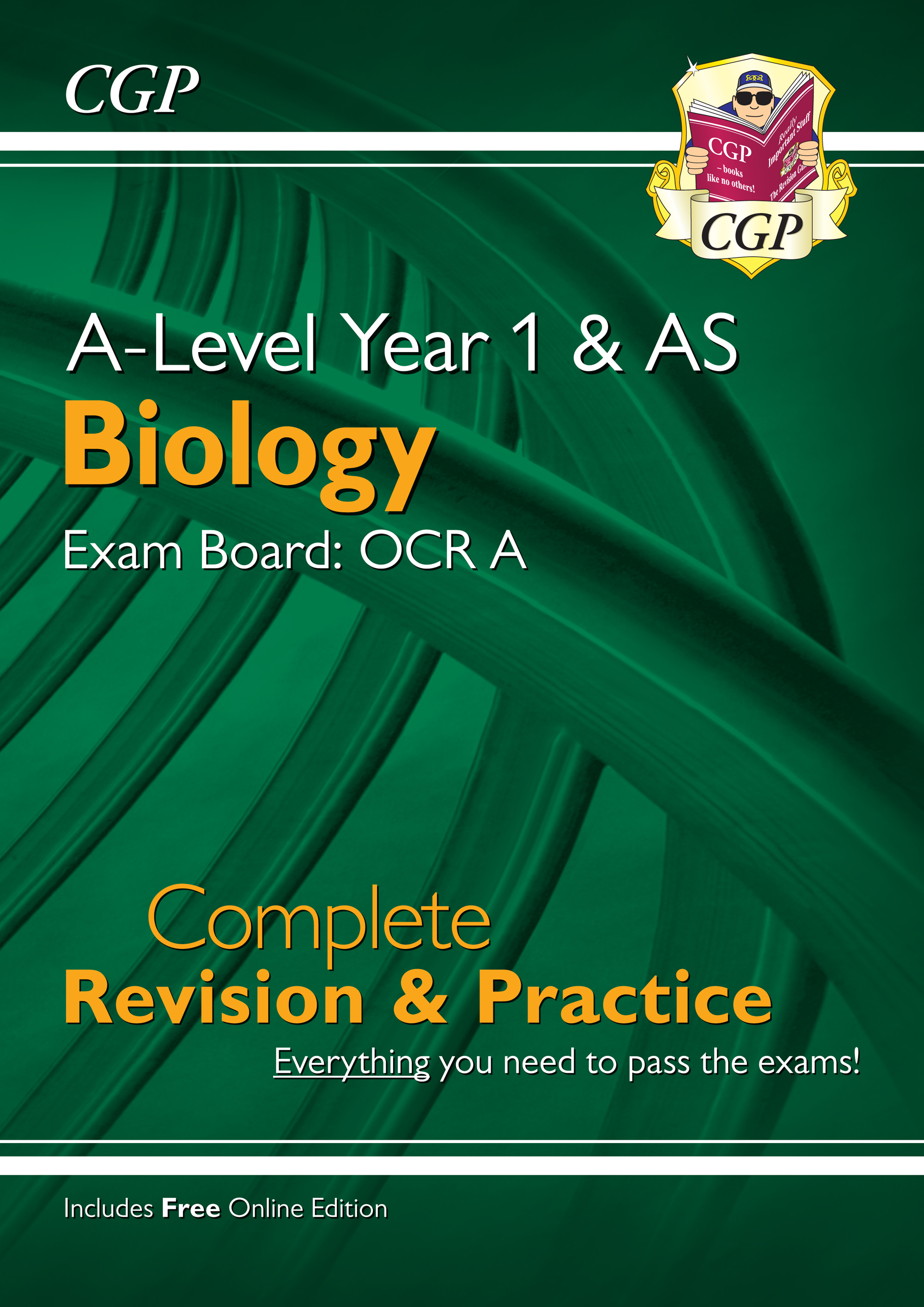 BRAR55 - New A-Level Biology: OCR A Year 1 & AS Complete Revision & Practice with Online Edition