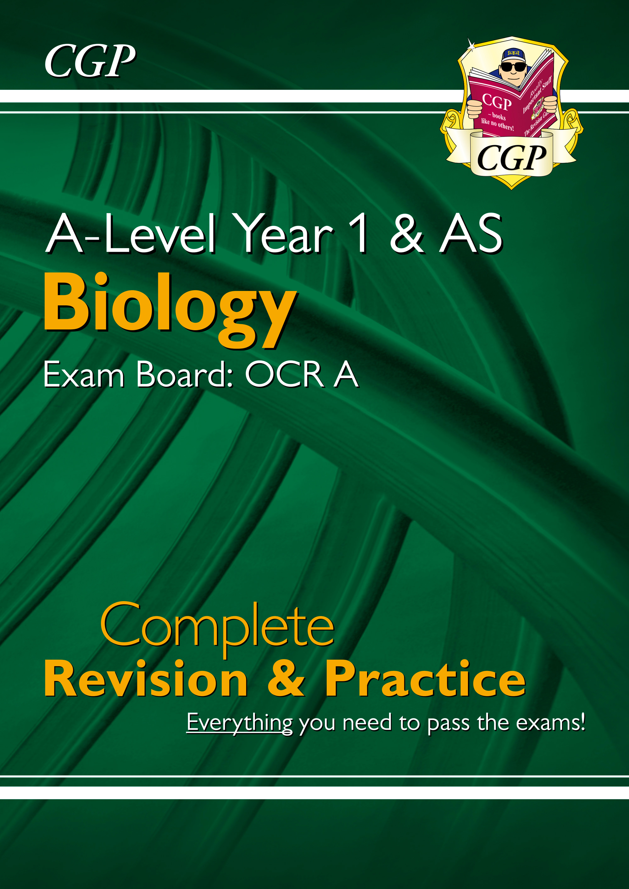 BRAR55DK - New A-Level Biology: OCR A Year 1 & AS Complete Revision & Practice