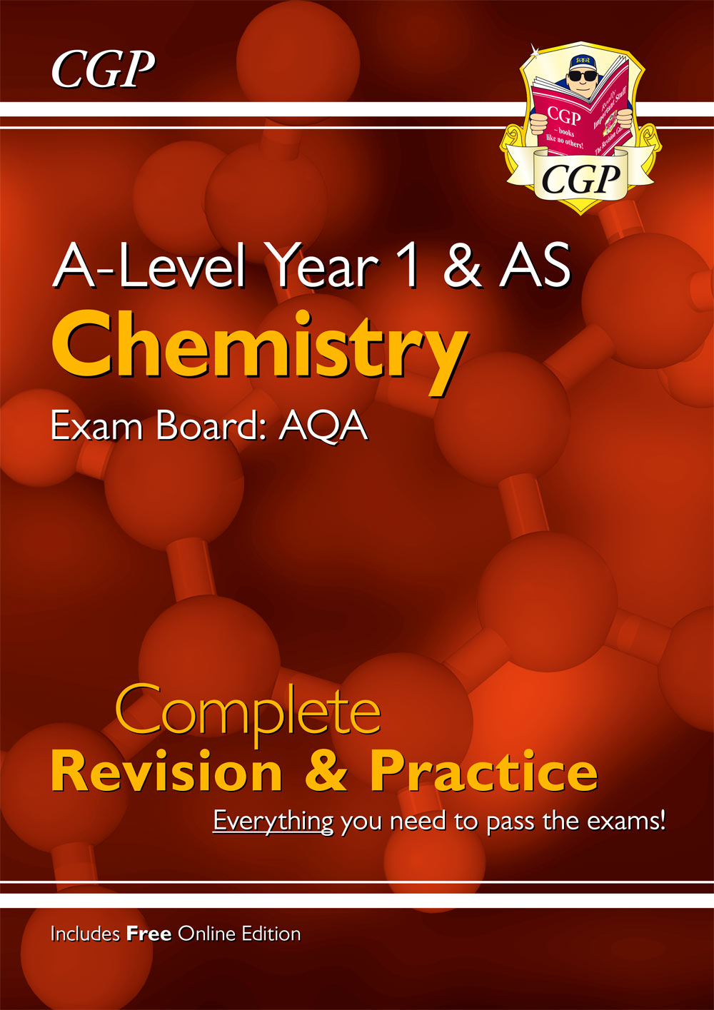 CAR54 - A-Level Chemistry: AQA Year 1 & AS Complete Revision & Practice with Online Edition