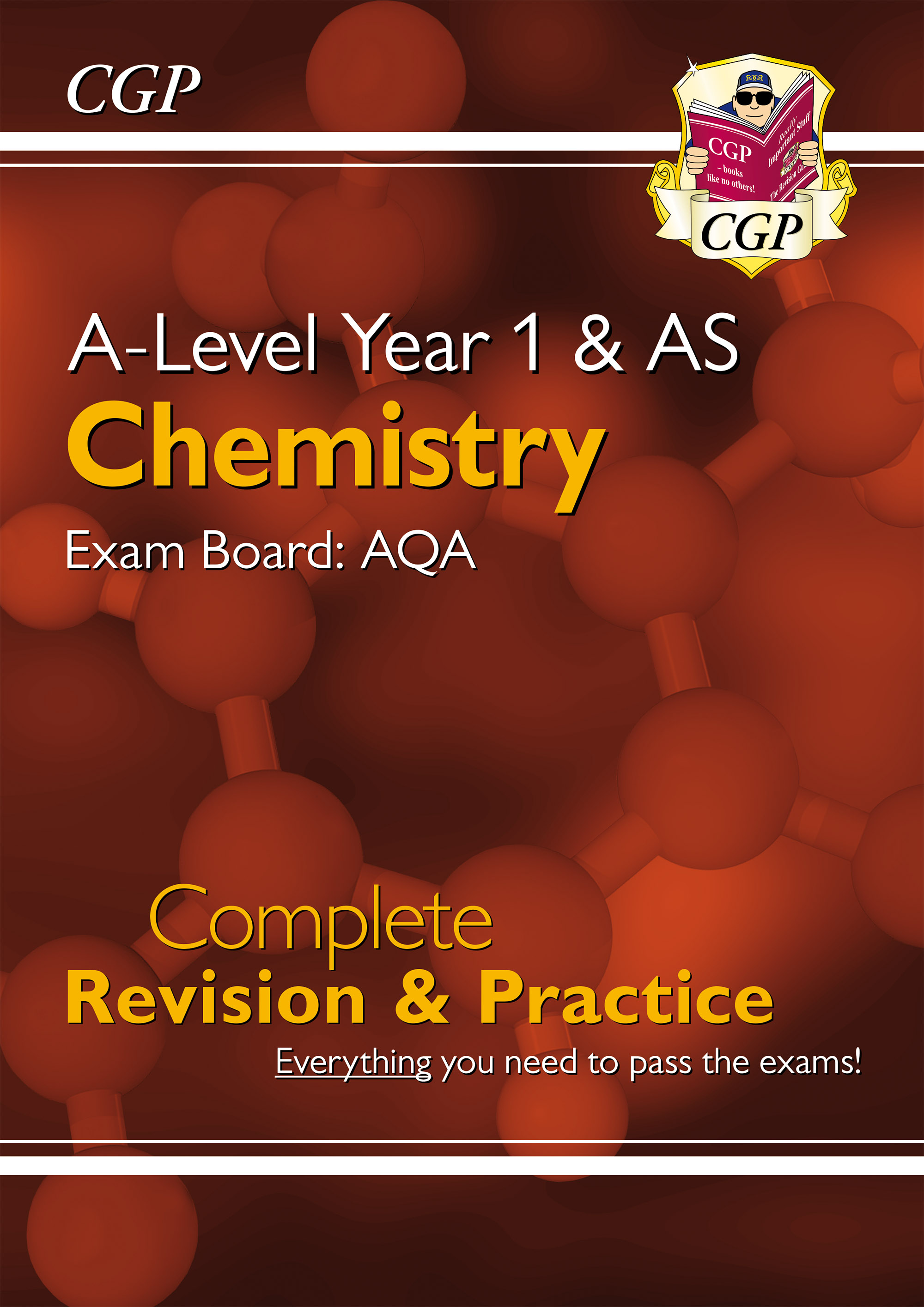 CAR54DK - New A-Level Chemistry for 2018: AQA Year 1 & AS Complete Revision & Practice