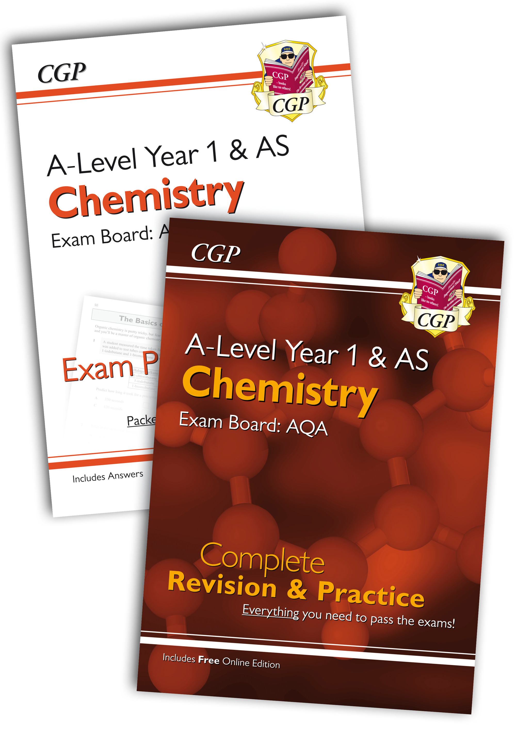 CARQB51 - New 2018 Complete Revision and Exam Practice A-Level Chemistry Bundle: AQA Year 1 & AS