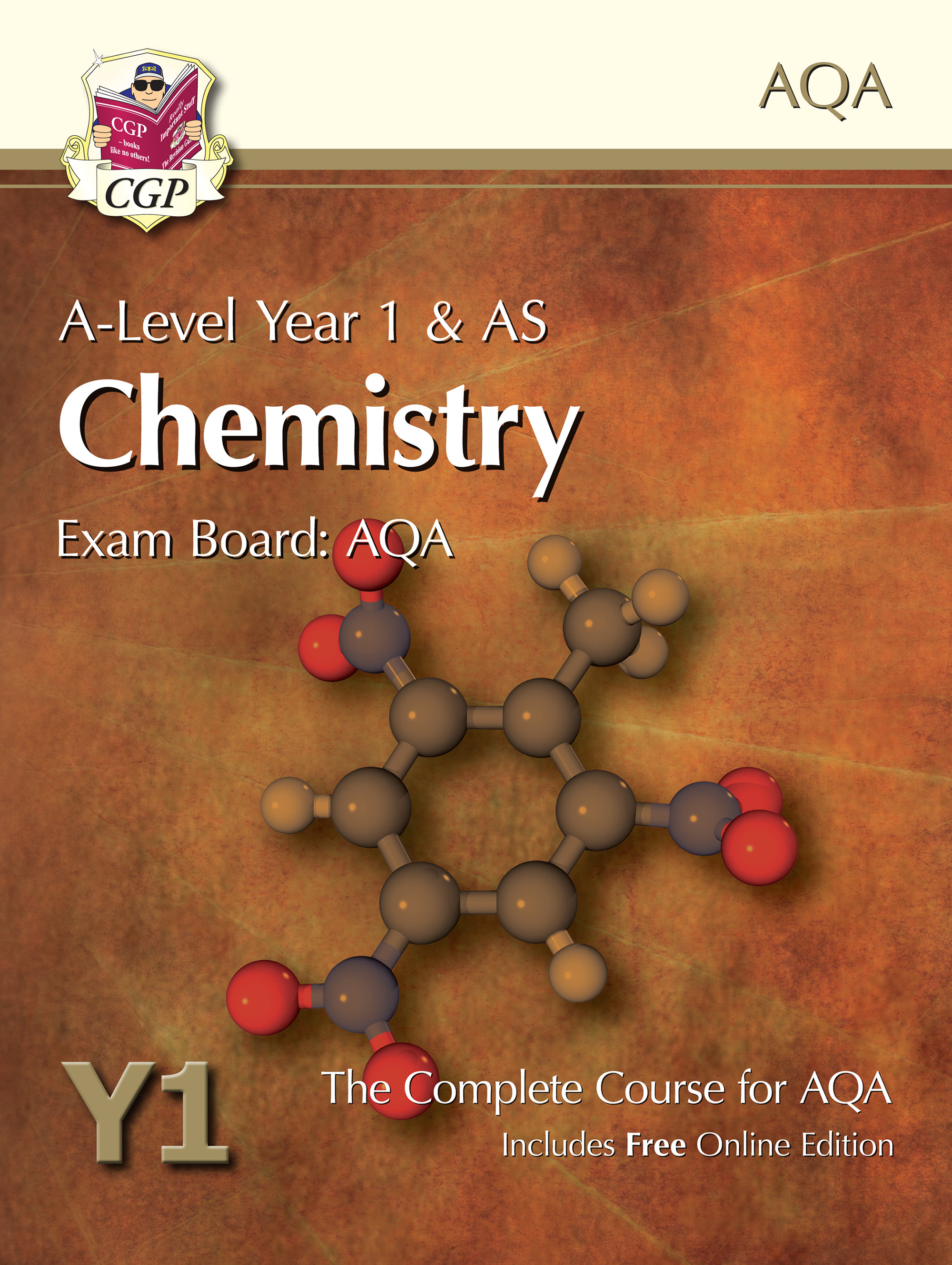 CATB52 - A-Level Chemistry for AQA: Year 1 & AS Student Book with Online Edition