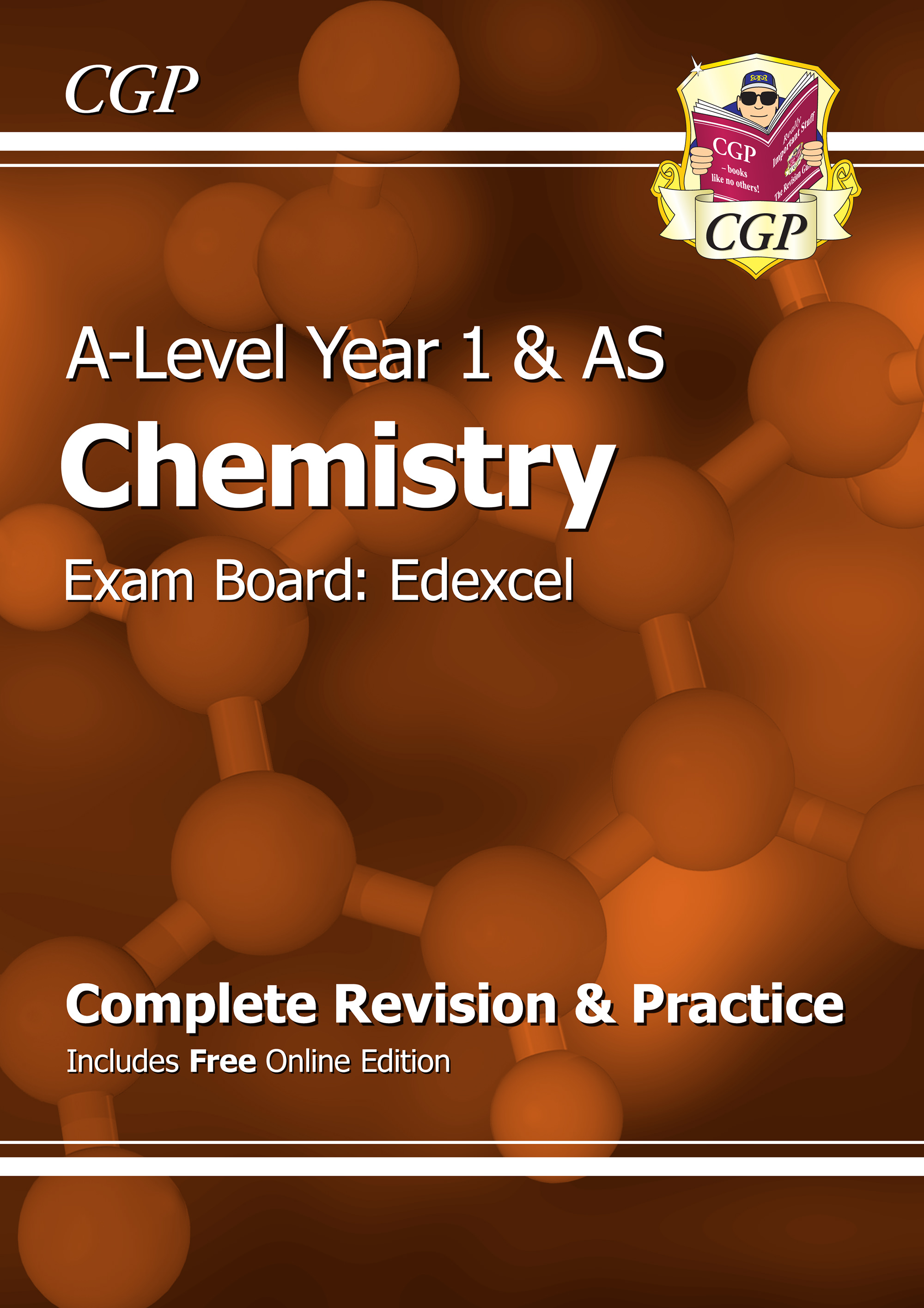 CER53 - A-Level Chemistry: Edexcel Year 1 & AS Complete Revision & Practice with Online Edition