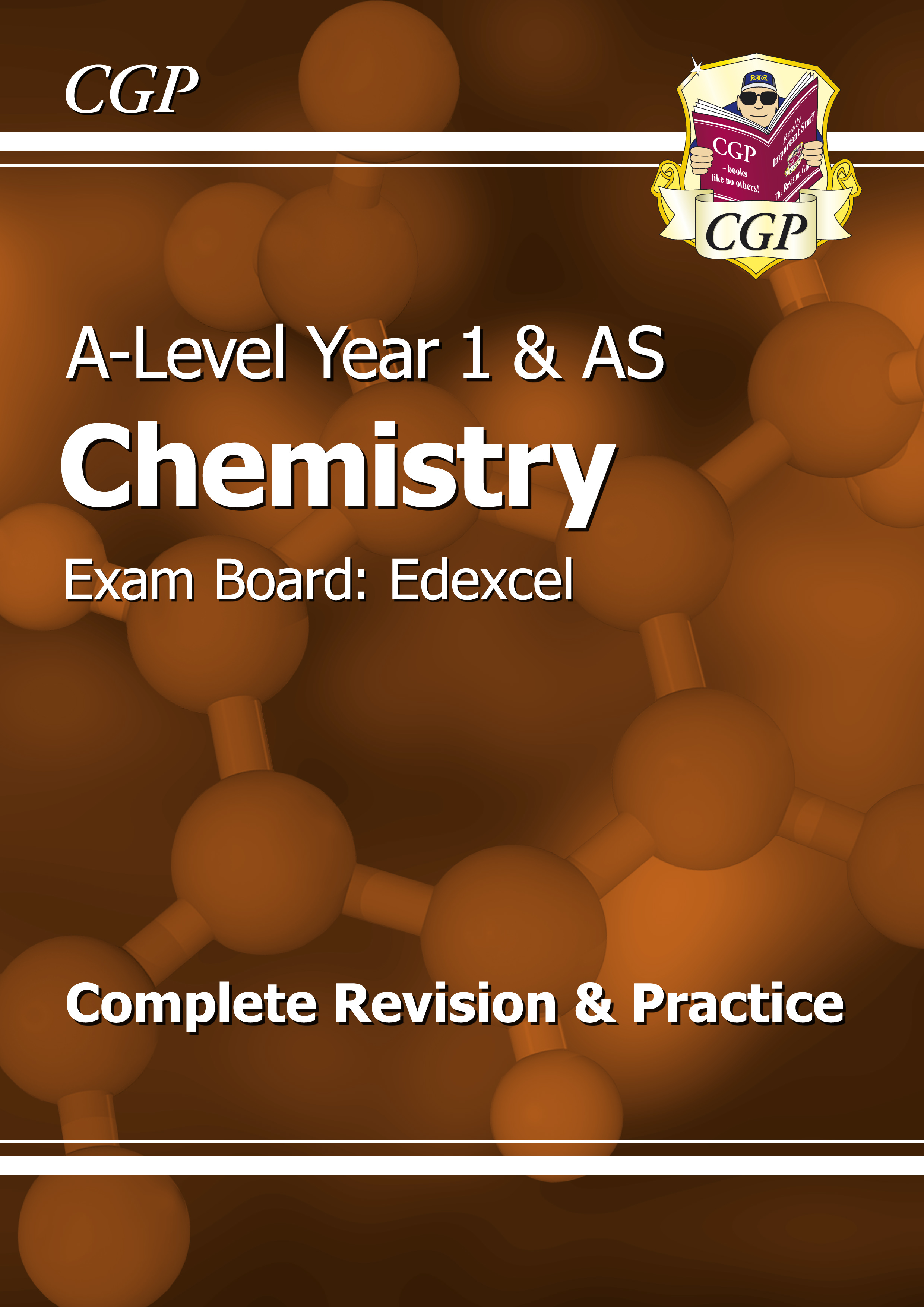 CER53DK - A-Level Chemistry: Edexcel Year 1 & AS Complete Revision & Practice