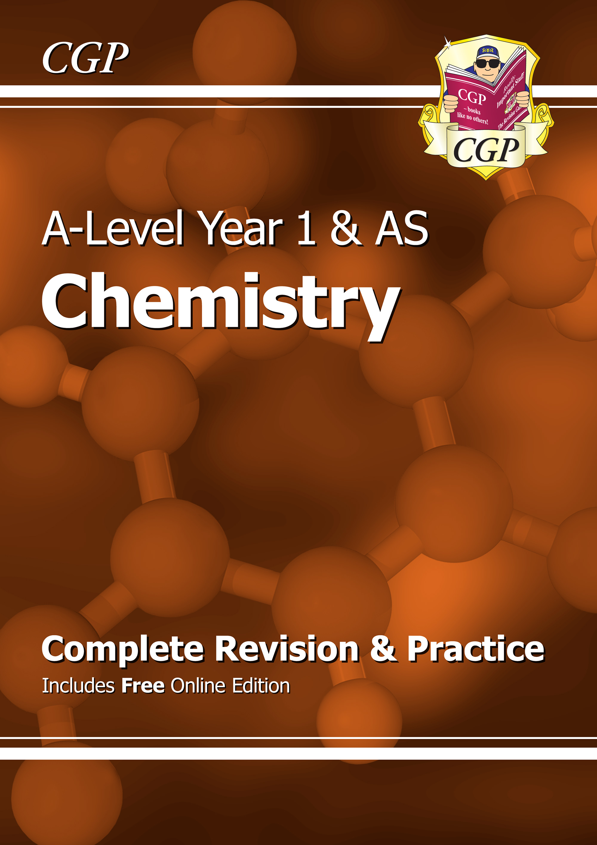 CHR54 - A-Level Chemistry: Year 1 & AS Complete Revision & Practice with Online Edition