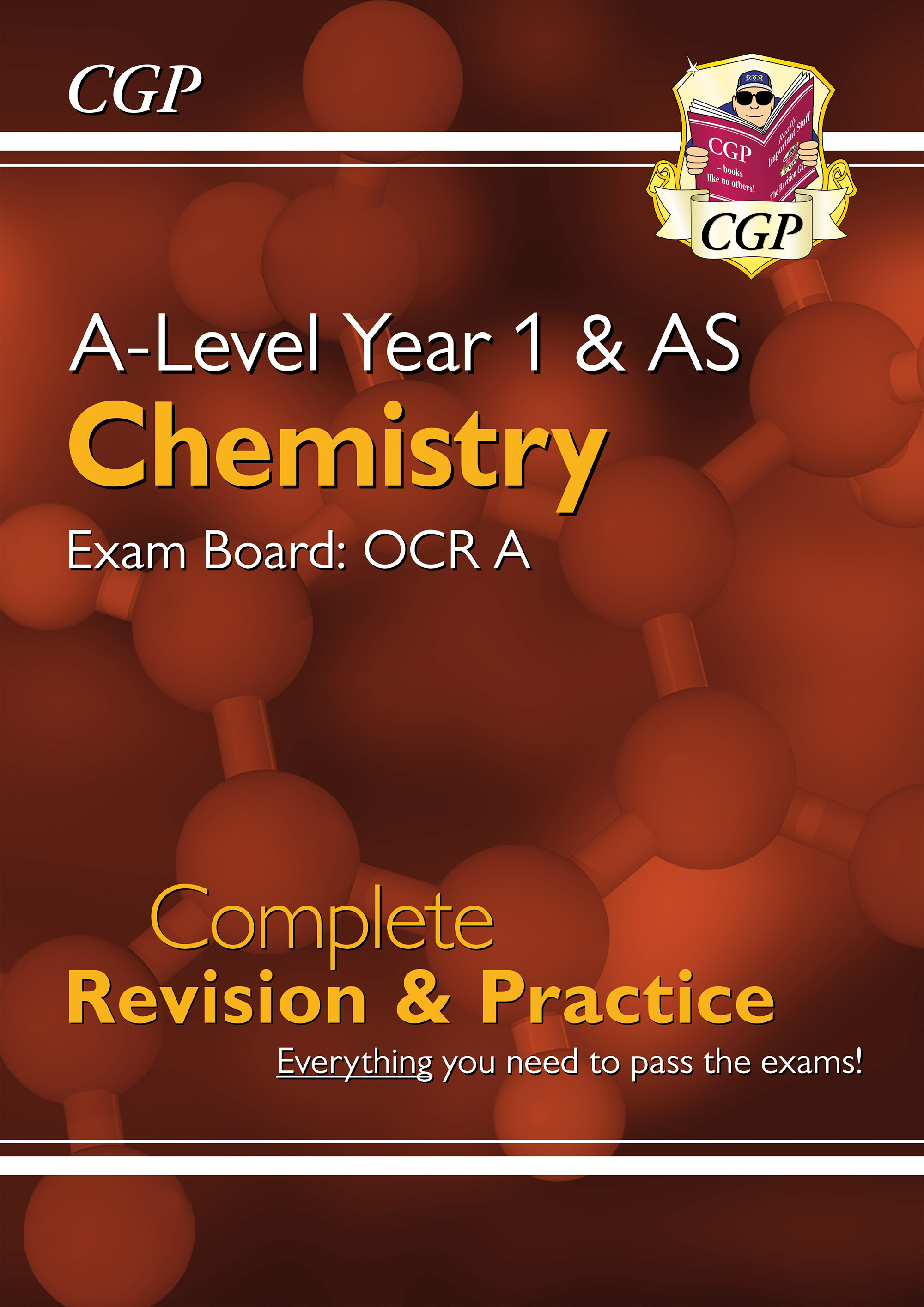 CRAR54DK - New A-Level Chemistry: OCR A Year 1 & AS Complete Revision & Practice
