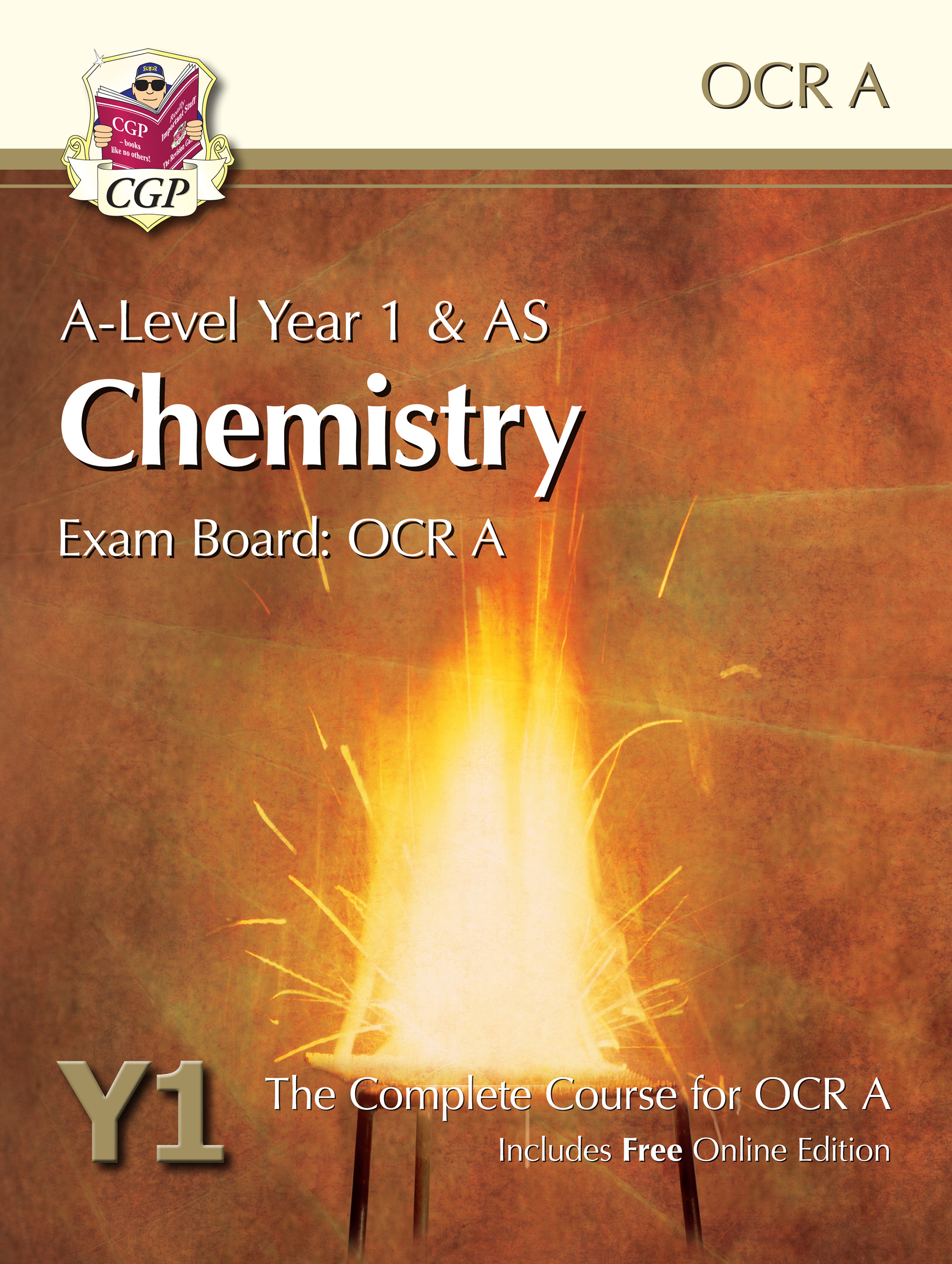 CRATB52 - A-Level Chemistry for OCR A: Year 1 & AS Student Book with Online Edition