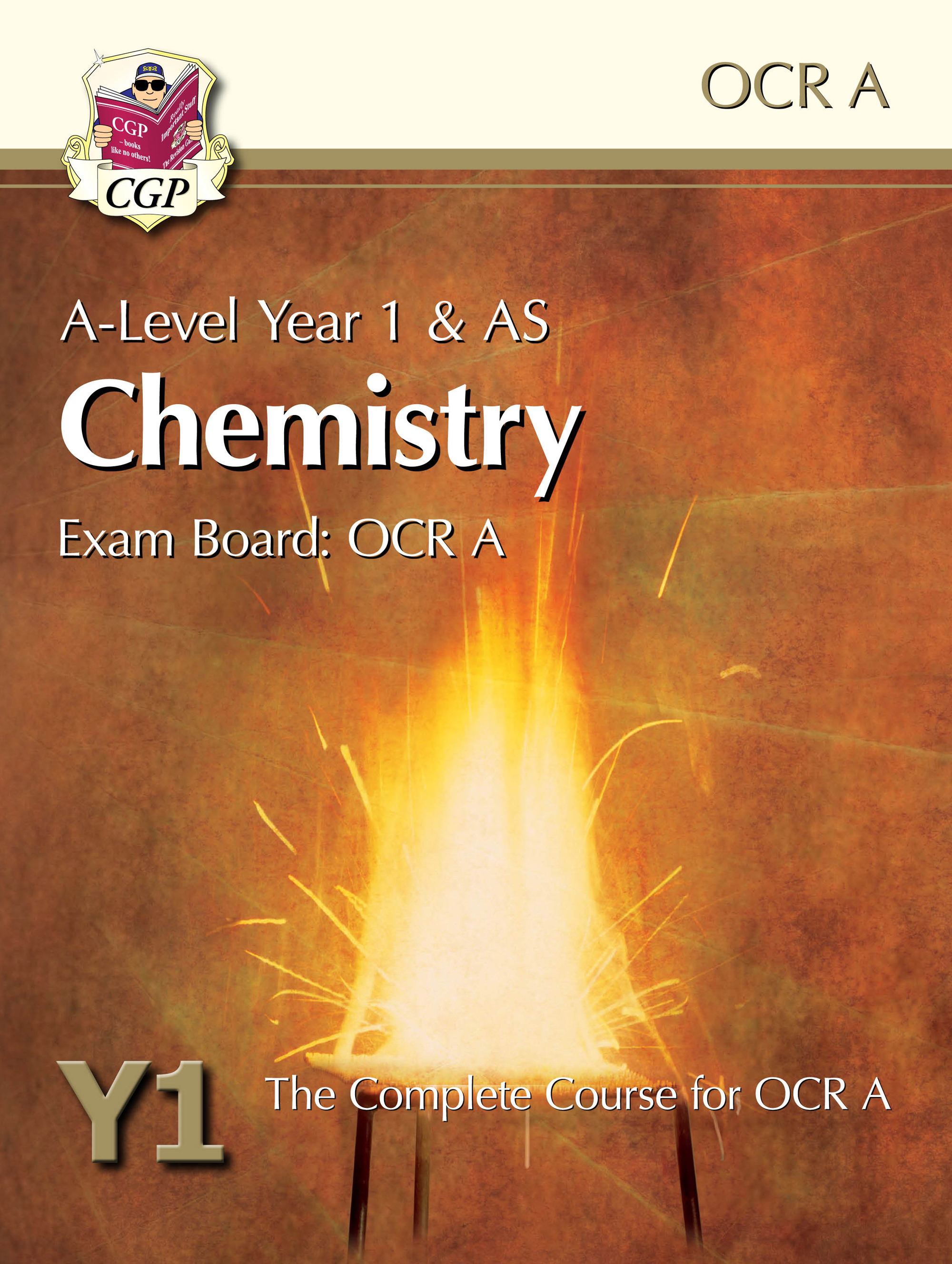 CRATB52DK - A-Level Chemistry for OCR A: Year 1 & AS Student Book