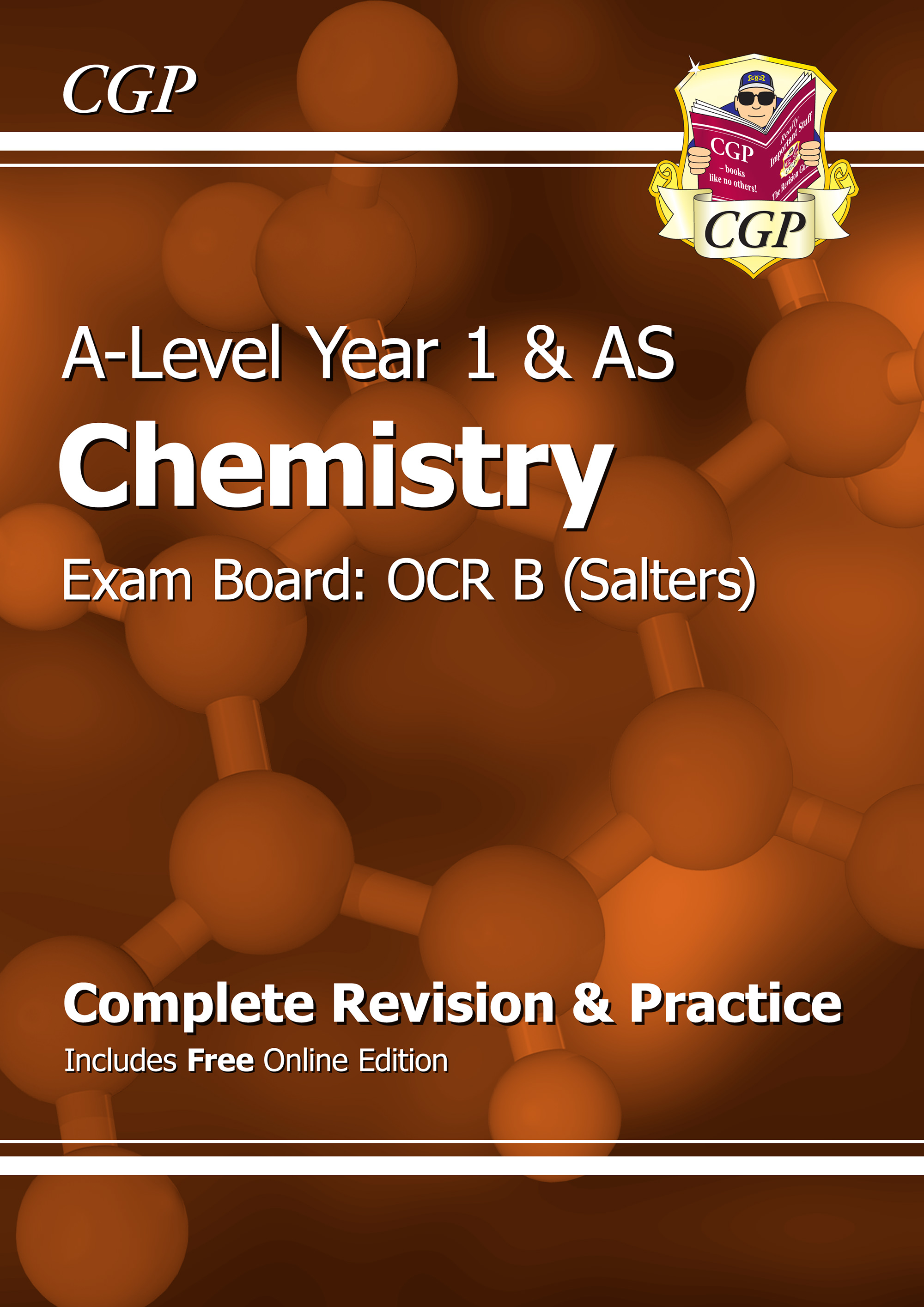 CRBR53 - A-Level Chemistry: OCR B Year 1 & AS Complete Revision & Practice with Online Edition