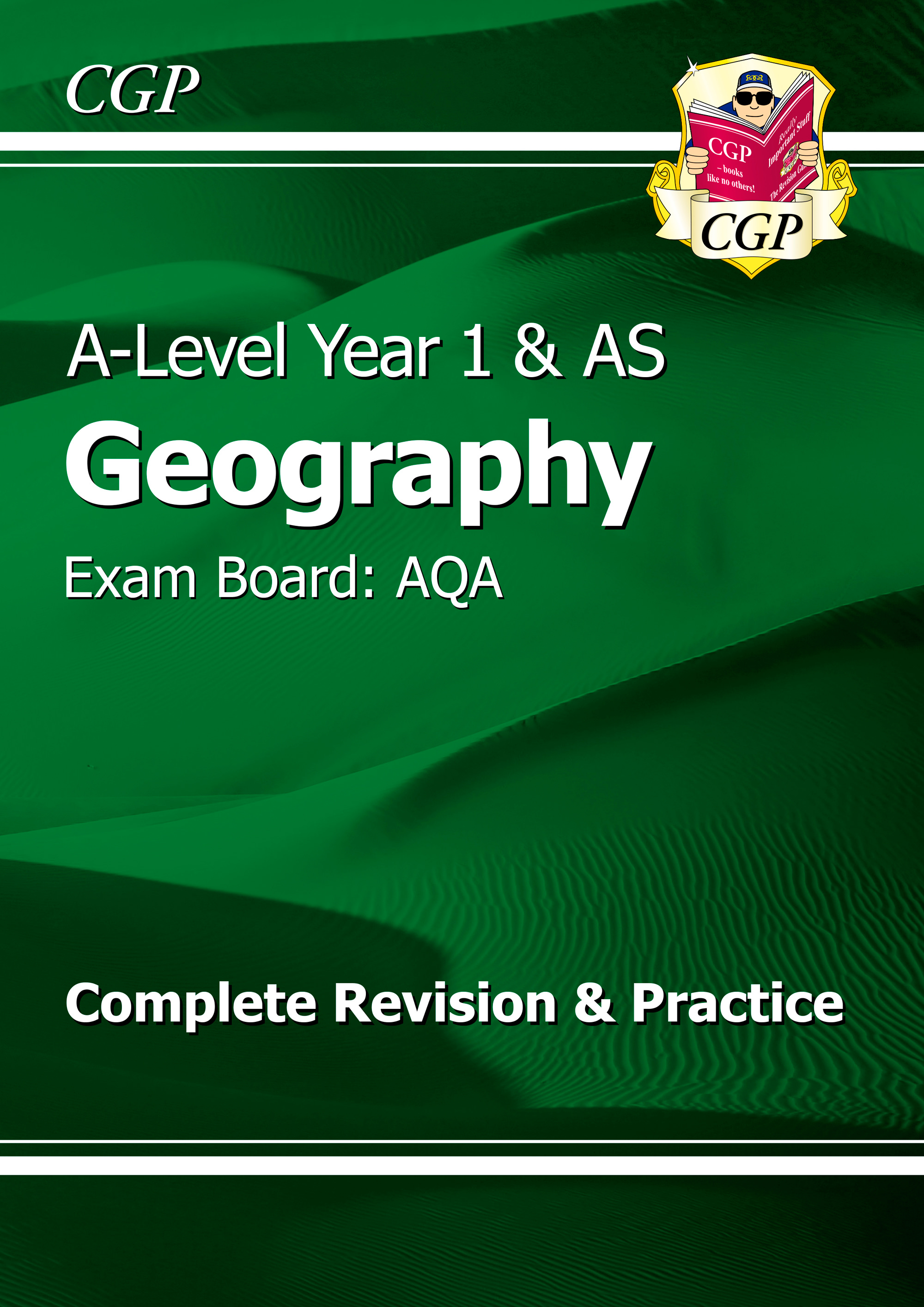 GAR53DK - New A-Level Geography: AQA Year 1 & AS Complete Revision & Practice