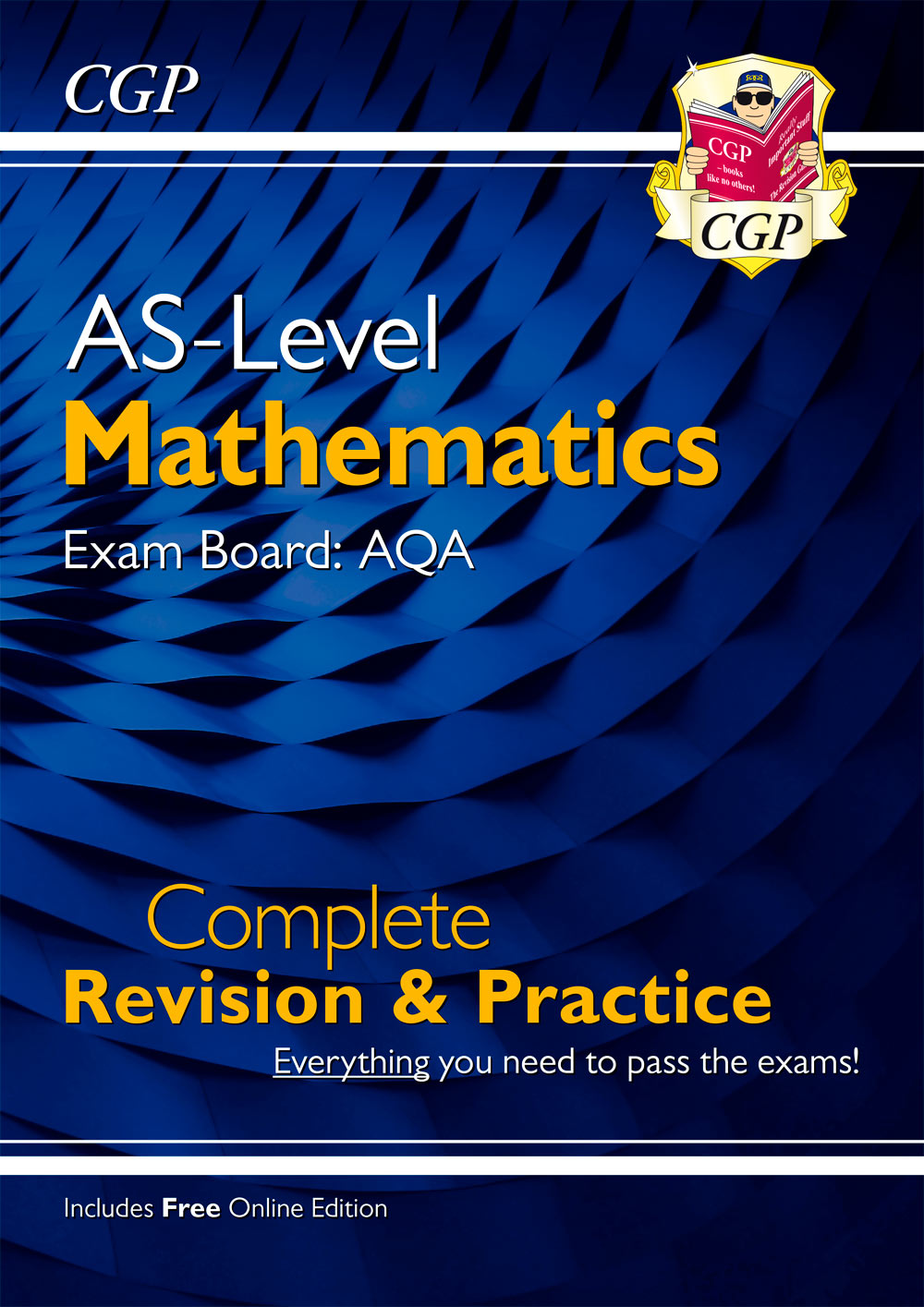 MAHR52 - New A-Level Maths for AQA: Year 1 & AS Complete Revision & Practice with Online Edition