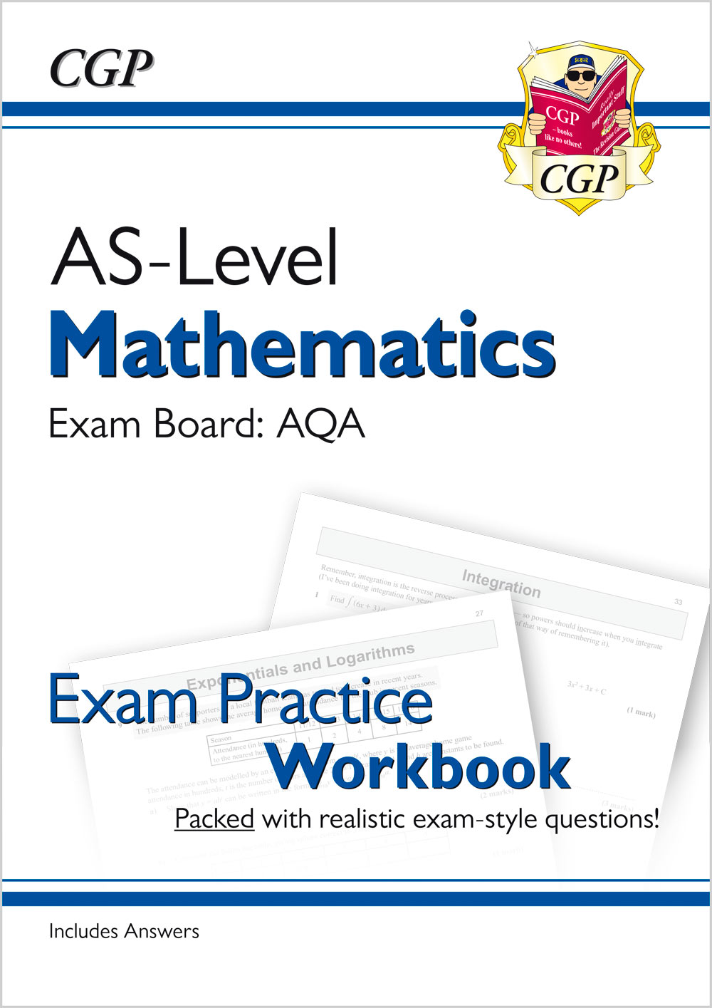 MAQ51 - A-Level Maths for AQA: Year 1 & AS Exam Practice Workbook
