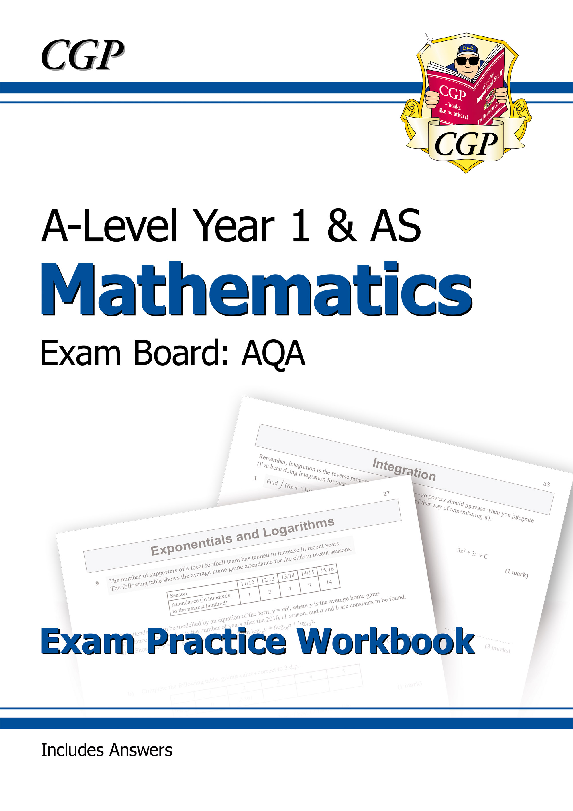 MAQ51DK - New A-Level Maths for AQA: Year 1 & AS Exam Practice Workbook