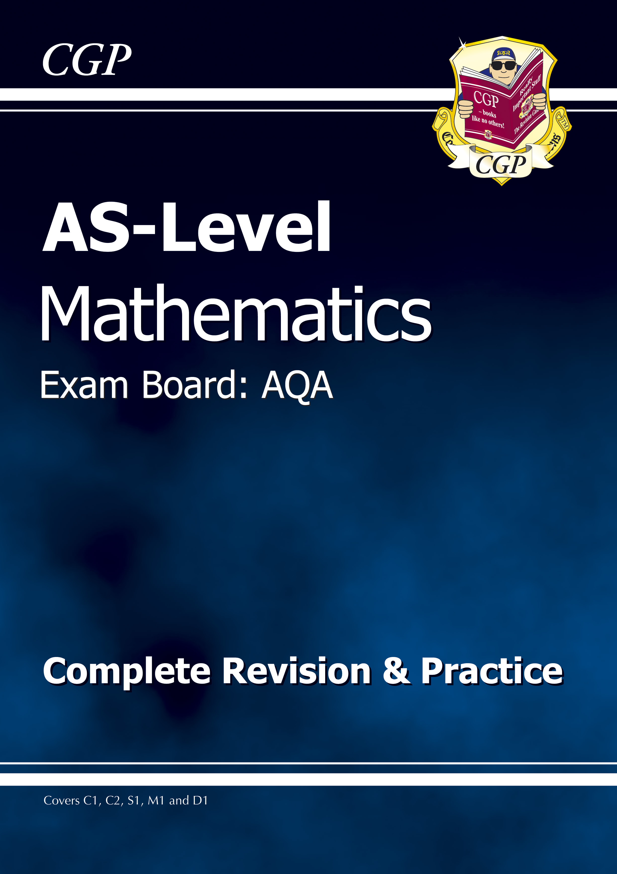 MAR51DK - AS-Level Maths AQA Complete Revision & Practice