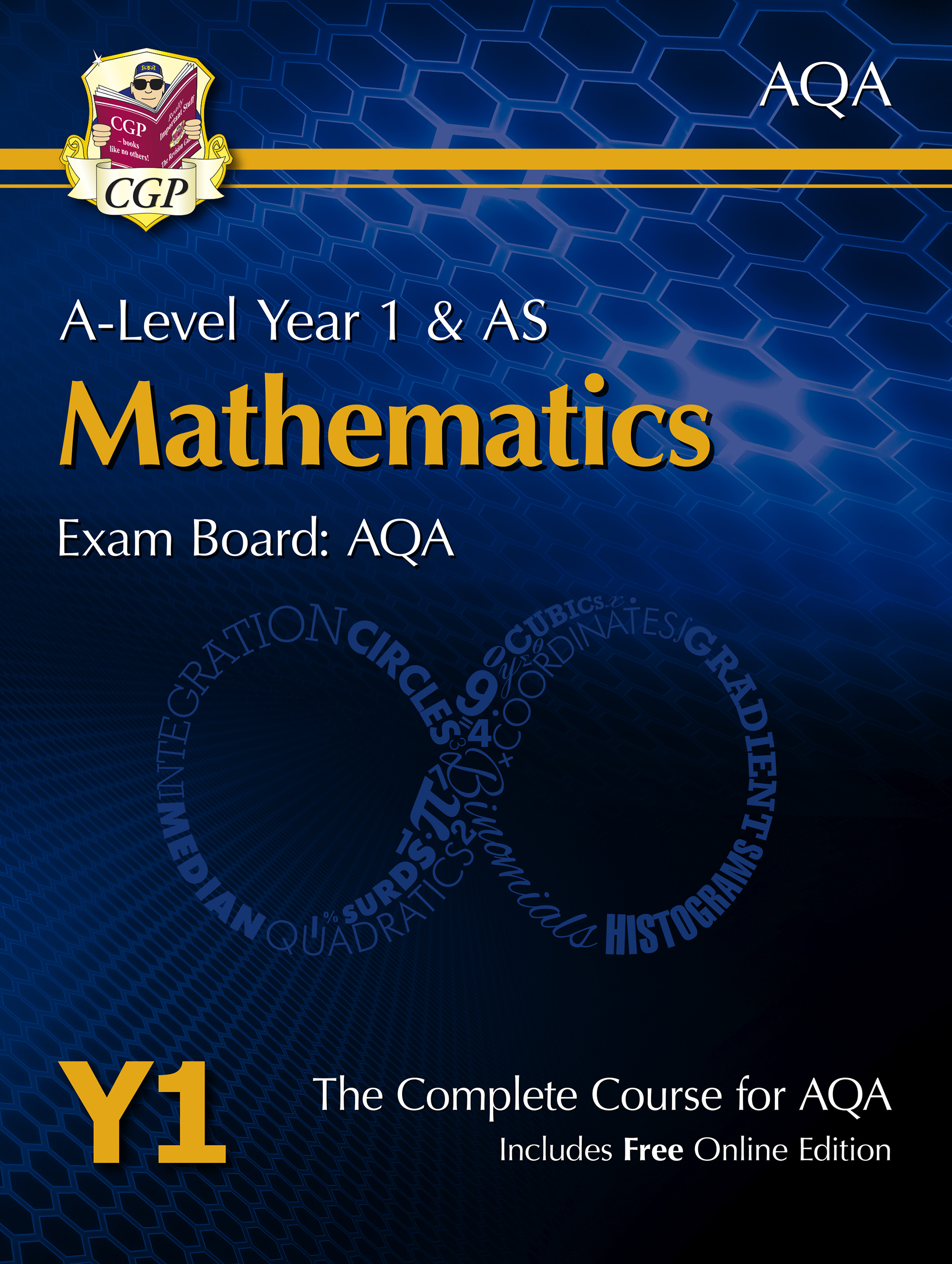 MAT51 - New A-Level Maths for AQA: Year 1 & AS Student Book with Online Edition