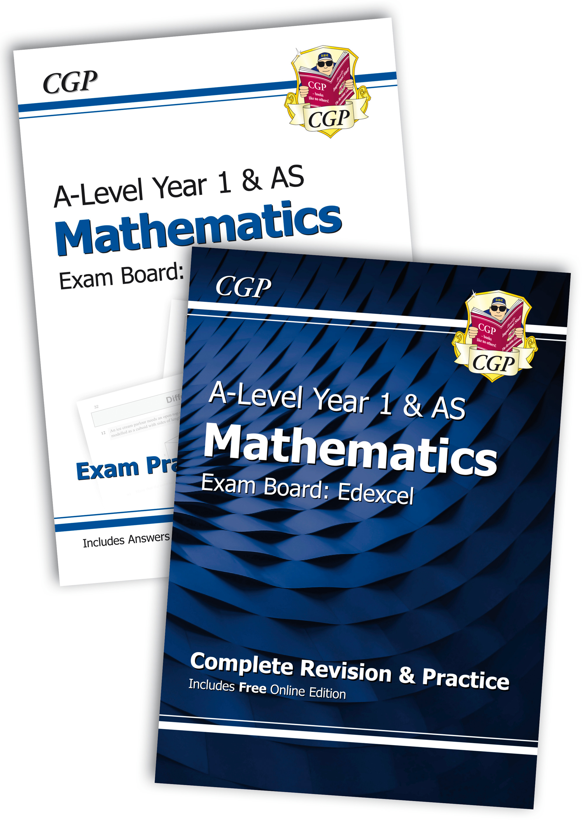 MEHB51 - New Complete Revision and Exam Practice A-Level Maths Bundle: Edexcel Year 1 & AS