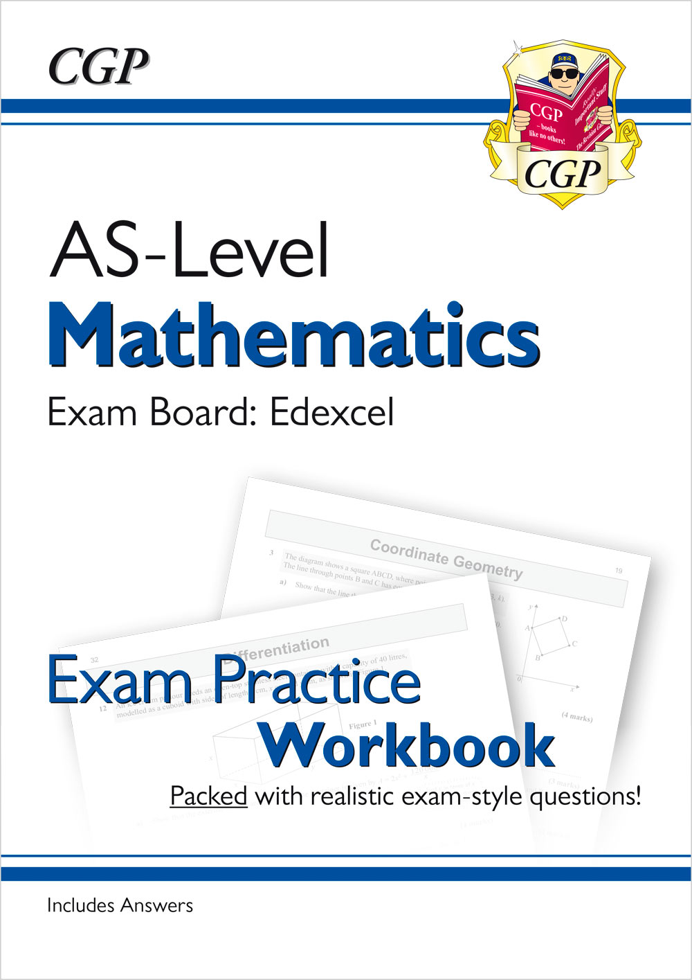 MEQ51 - A-Level Maths for Edexcel: Year 1 & AS Exam Practice Workbook