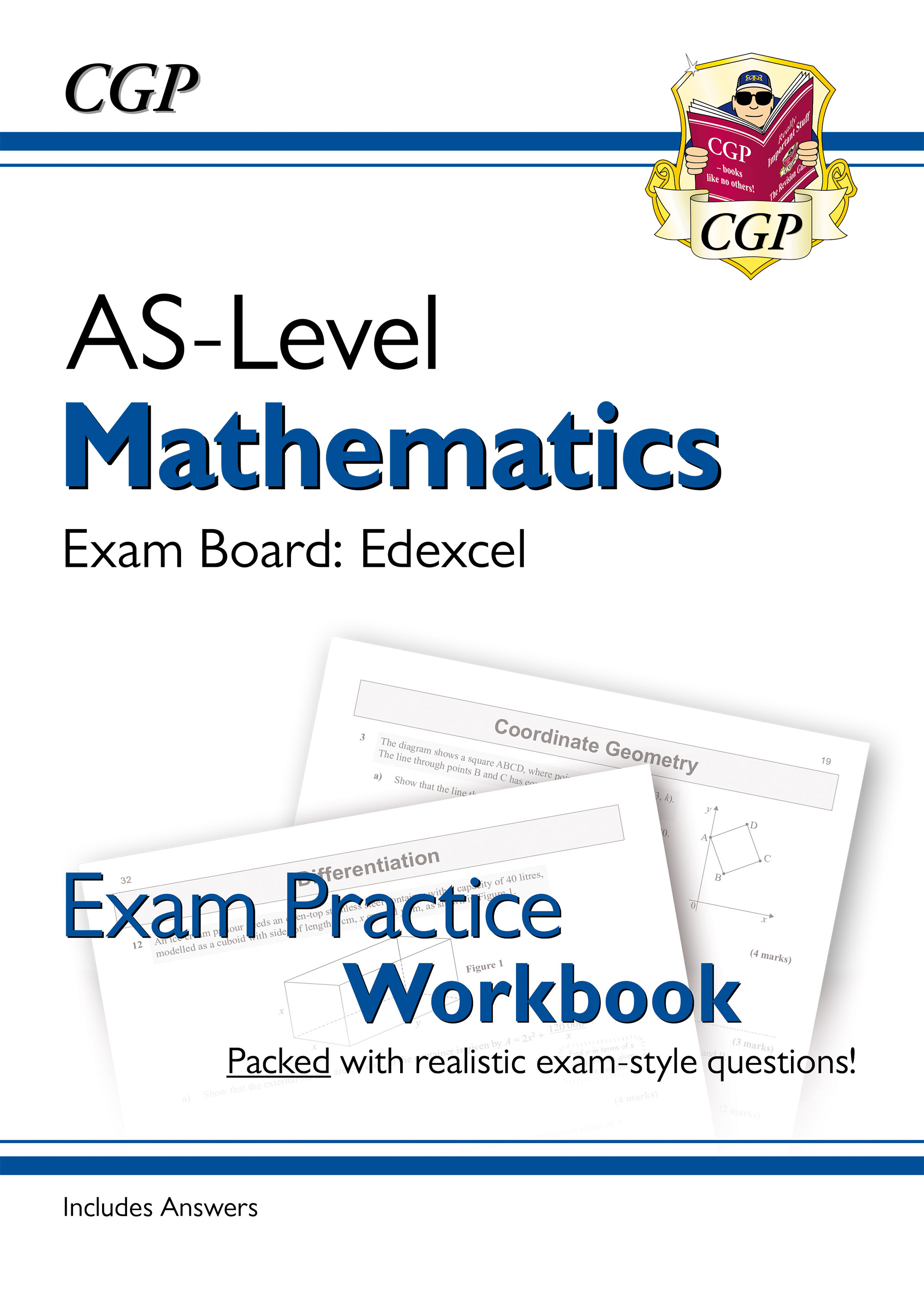 MEQ51DK - New A-Level Maths for Edexcel: Year 1 & AS Exam Practice Workbook