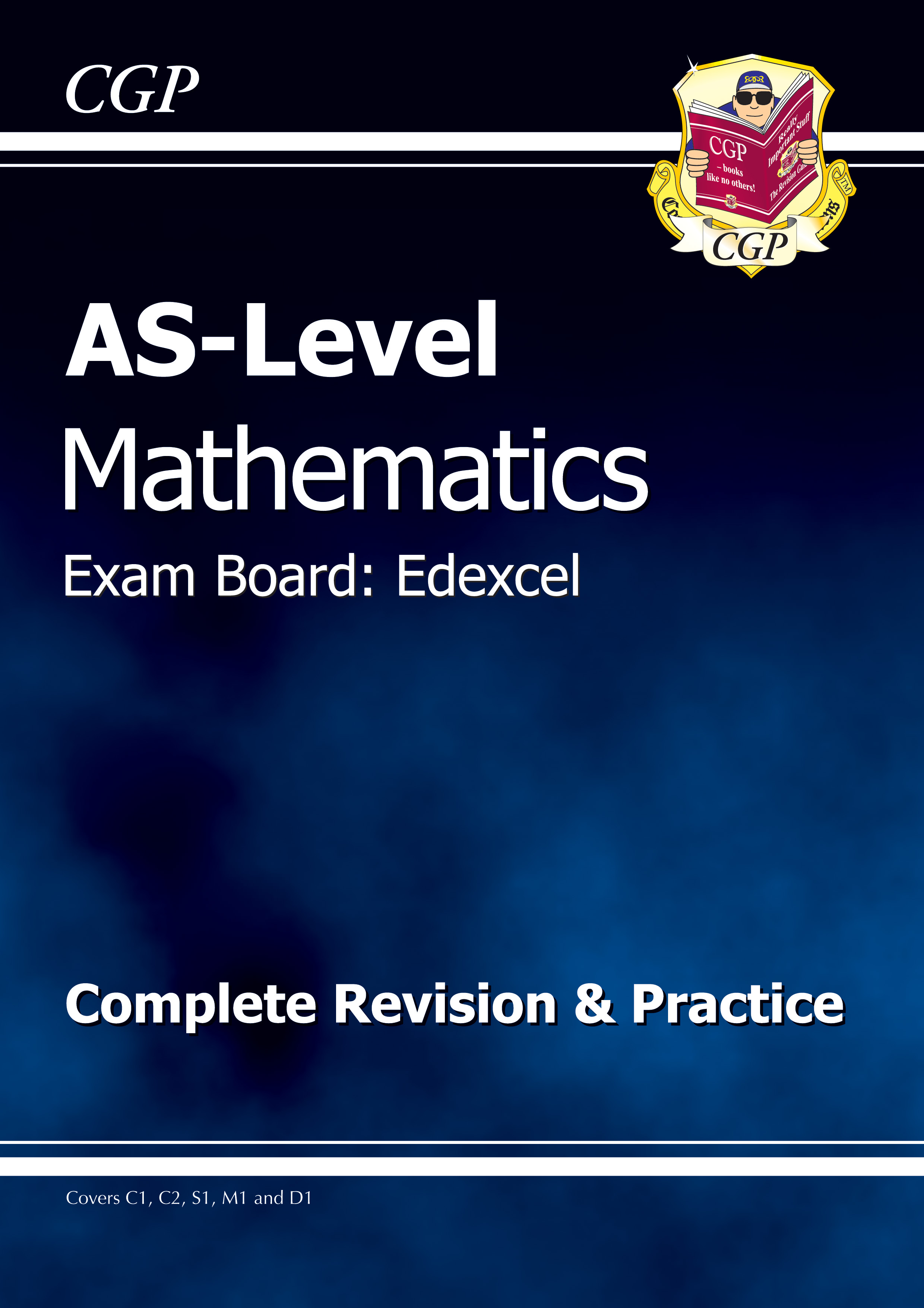 MER51DK - AS-Level Maths Edexcel Complete Revision & Practice