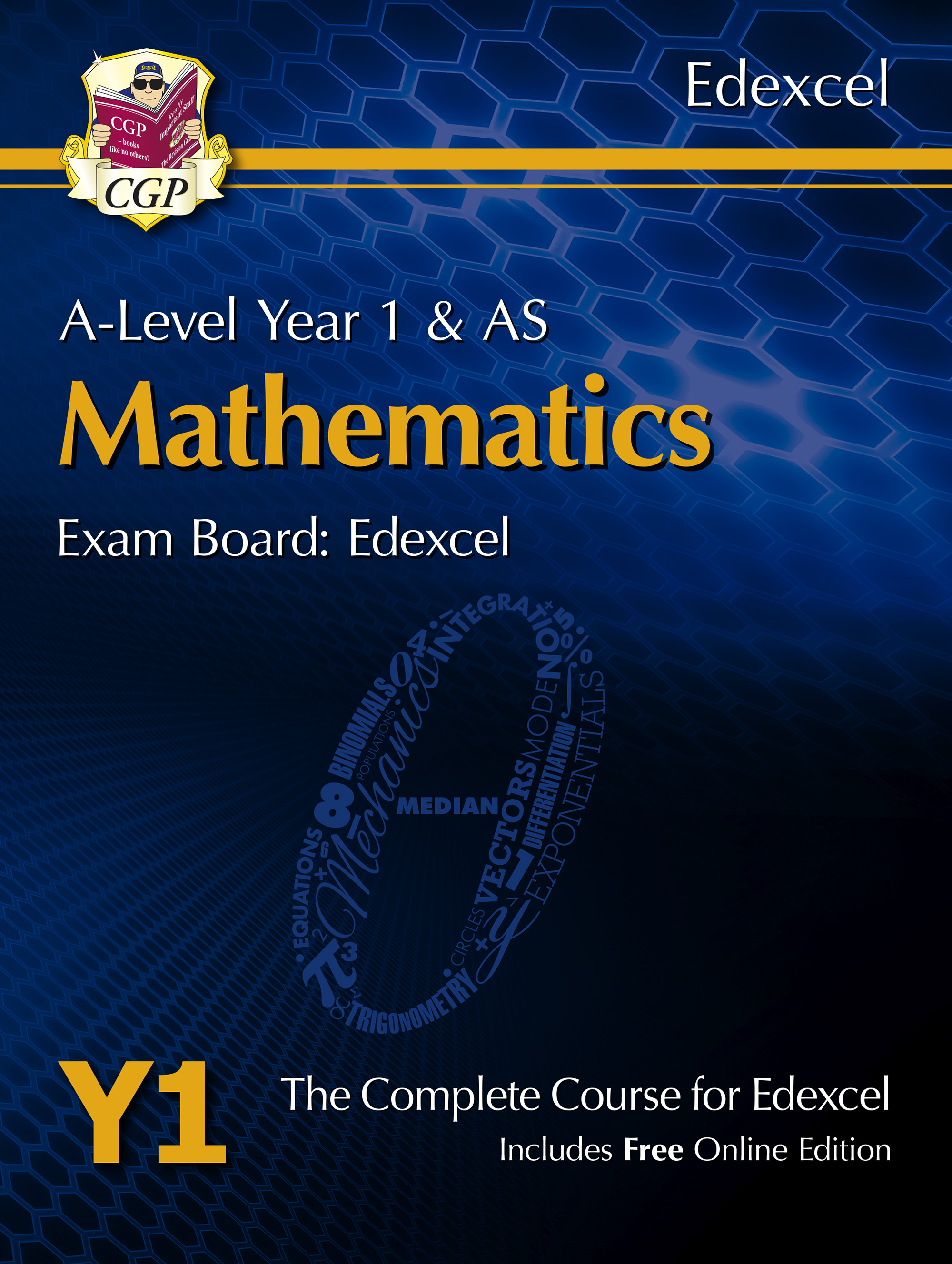 MET51 - A-Level Maths for Edexcel: Year 1 & AS Student Book with Online Edition