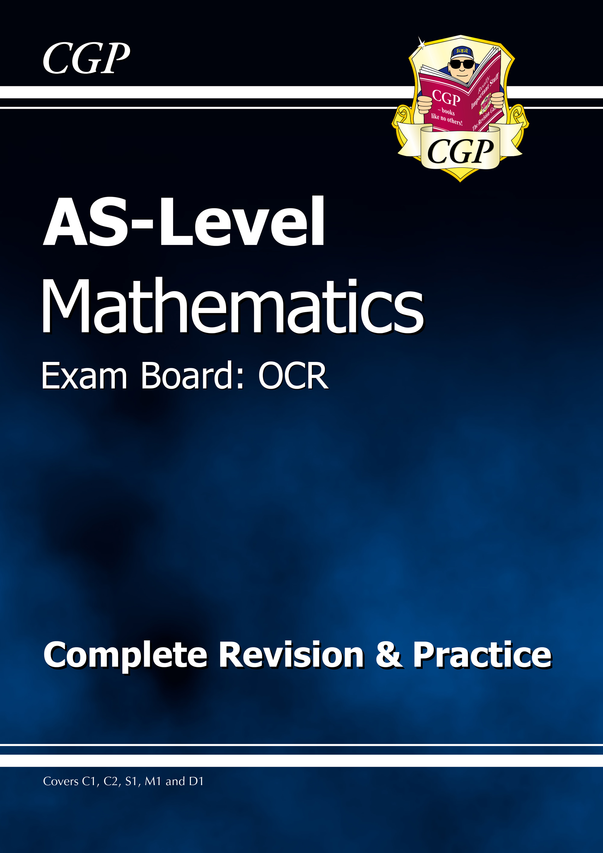 MRAR51DK - AS-Level Maths OCR Complete Revision & Practice