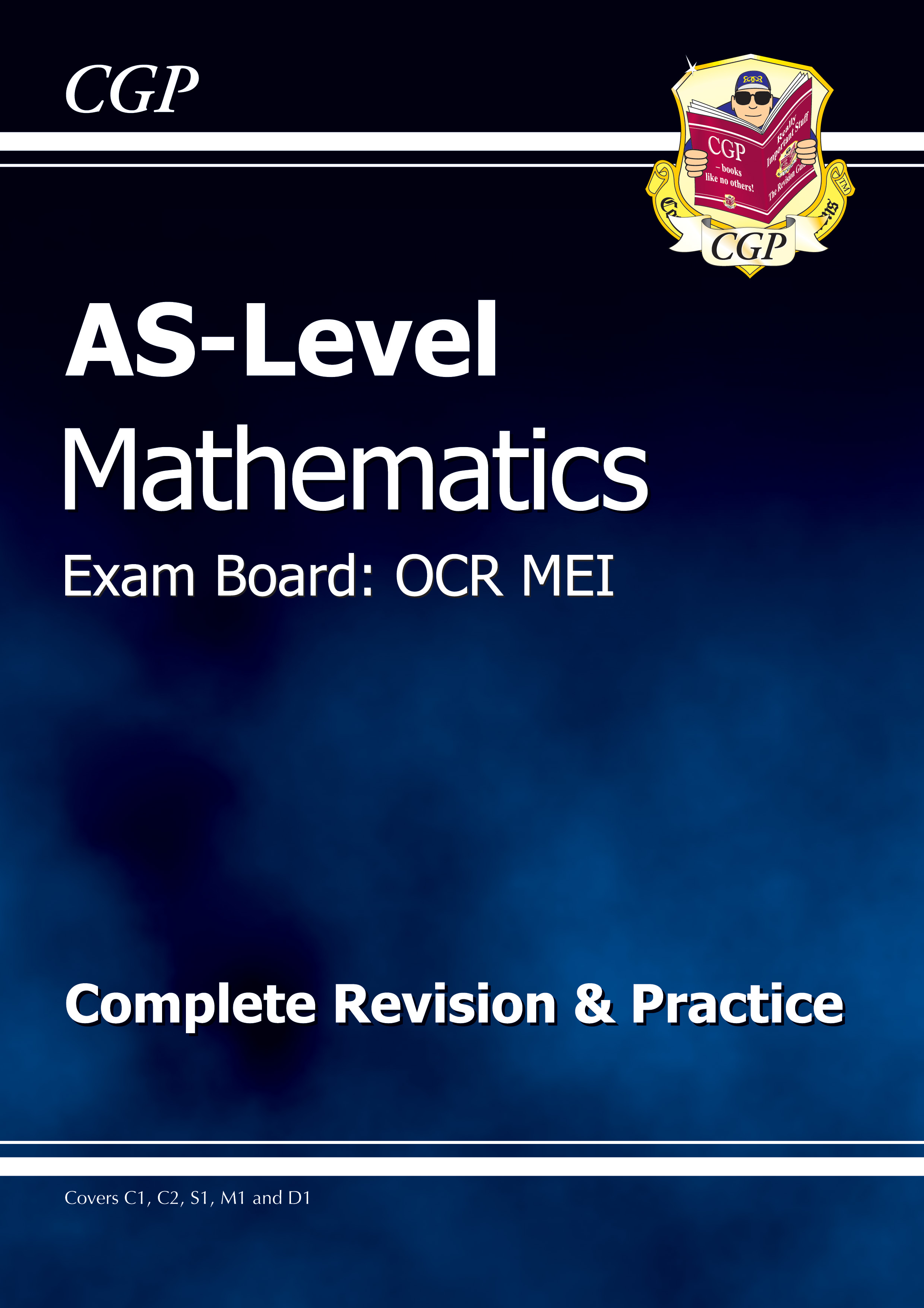 MRMR51DK - AS-Level Maths OCR MEI Complete Revision & Practice